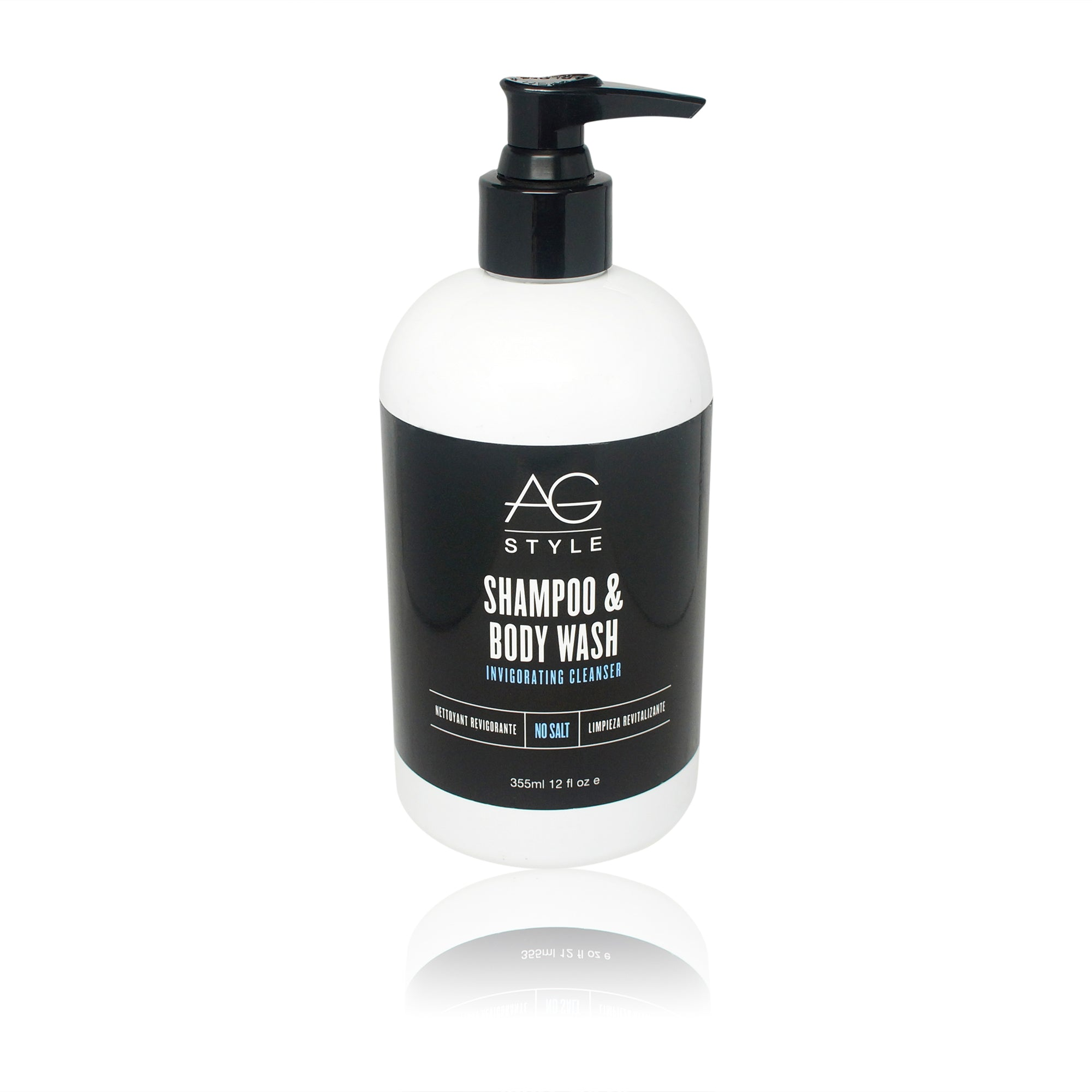 AGHAIR ~ SHAMPOO & BODY WASH ~ 12OZ