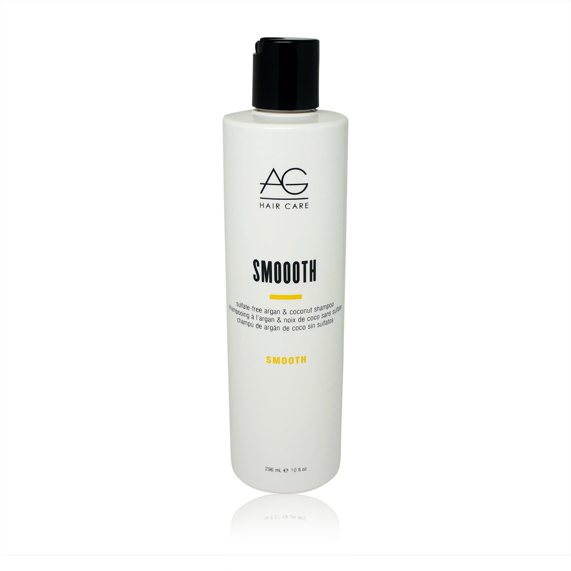 AGHAIR ~ SMOOOTH SULFATE-FREE ARGAN & COCONUT SHAMPOO ~ 10OZ