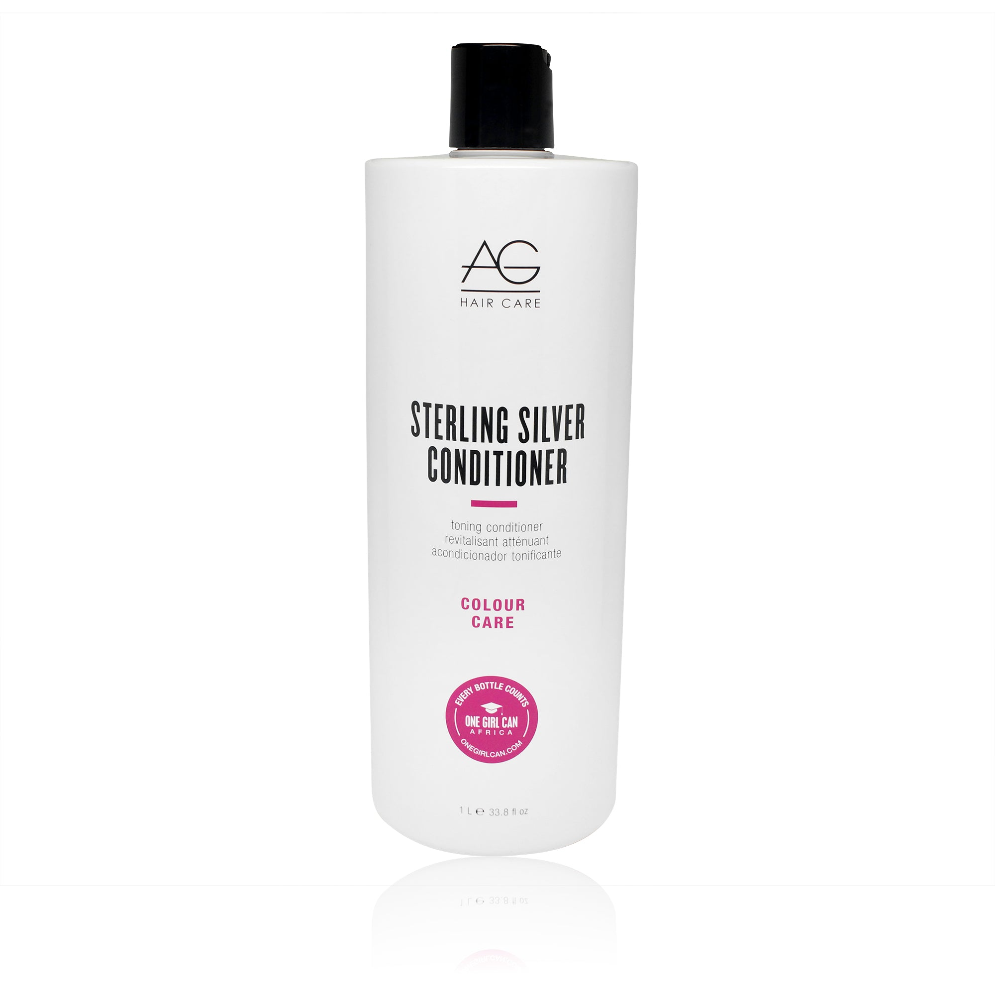 AGHAIR ~ STERLING SILVER TONING CONDITIONER ~ 1L