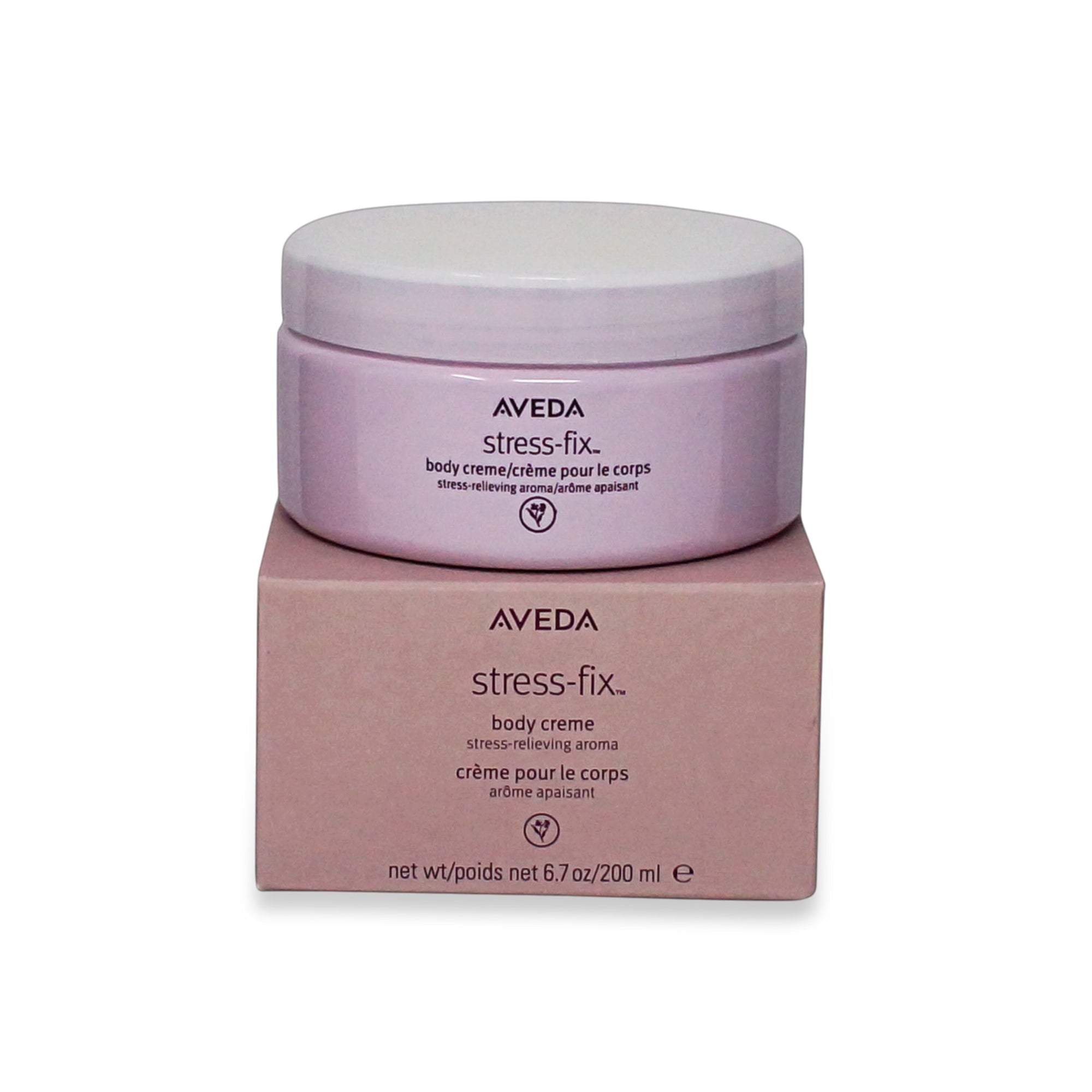 AVEDA ~ STRESS-FIX BODY CREME BB ~ 6.8 OZ