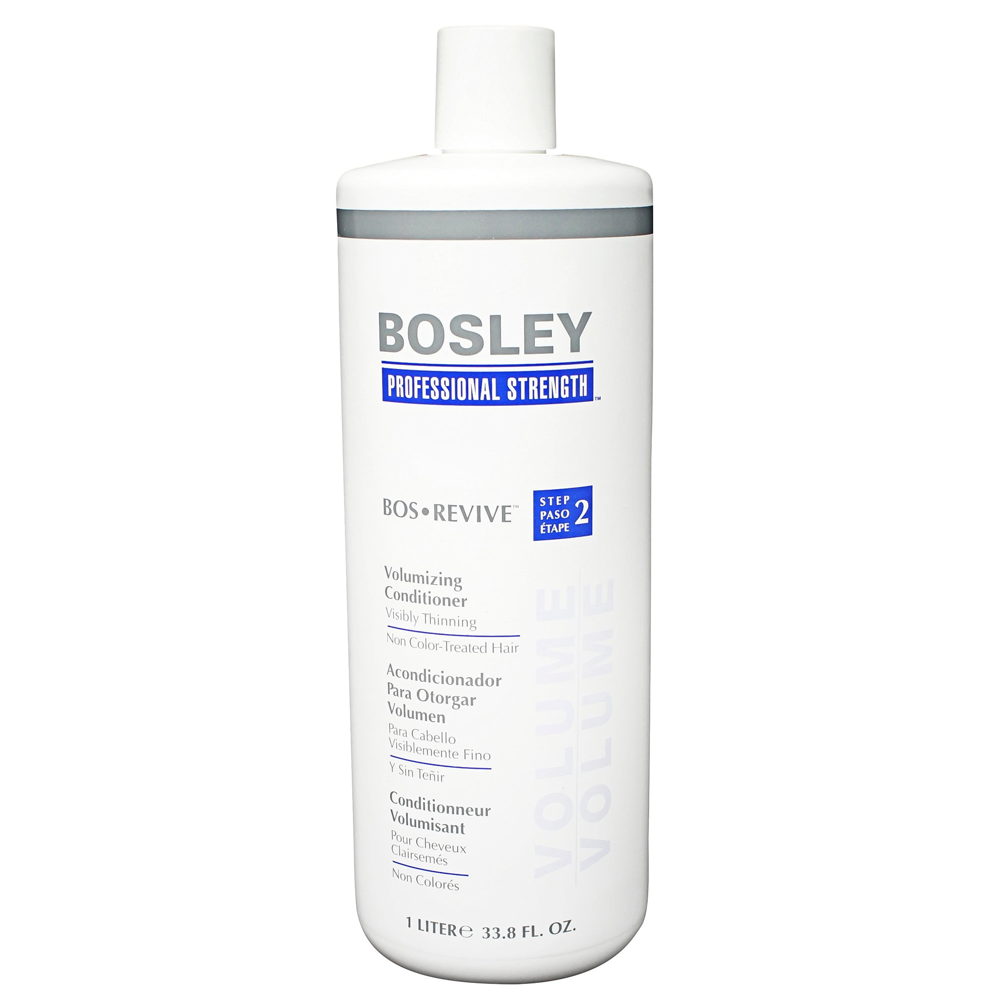 BOSLEY ~ BOSREVIVE ~ VOLUMIZING CONDITIONER FOR NON COLOR-TREATED HAIR ~ 33.8OZ