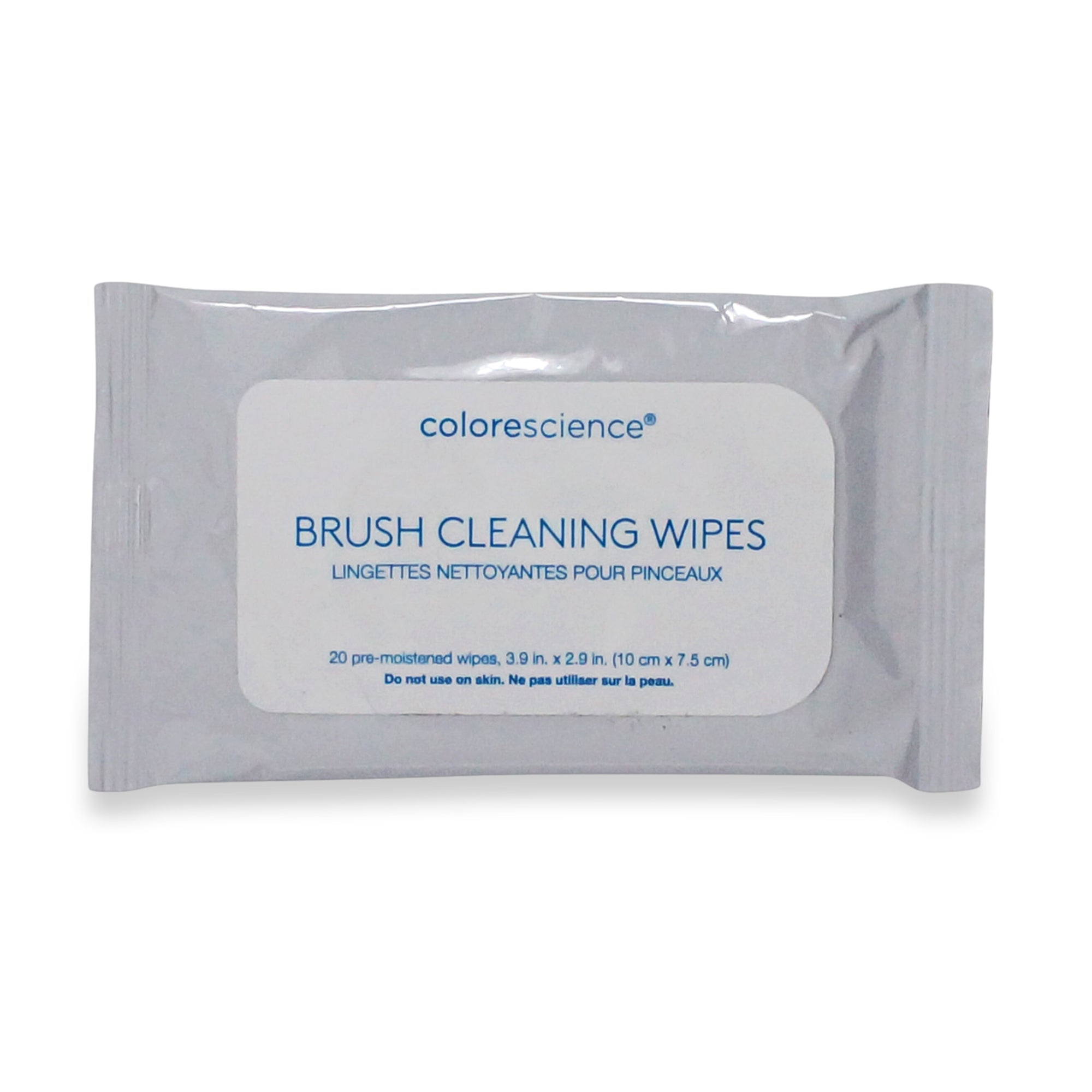 COLORESCIENCE ~ BRUSH CLEANING WIPES 20 PACK **NEW**