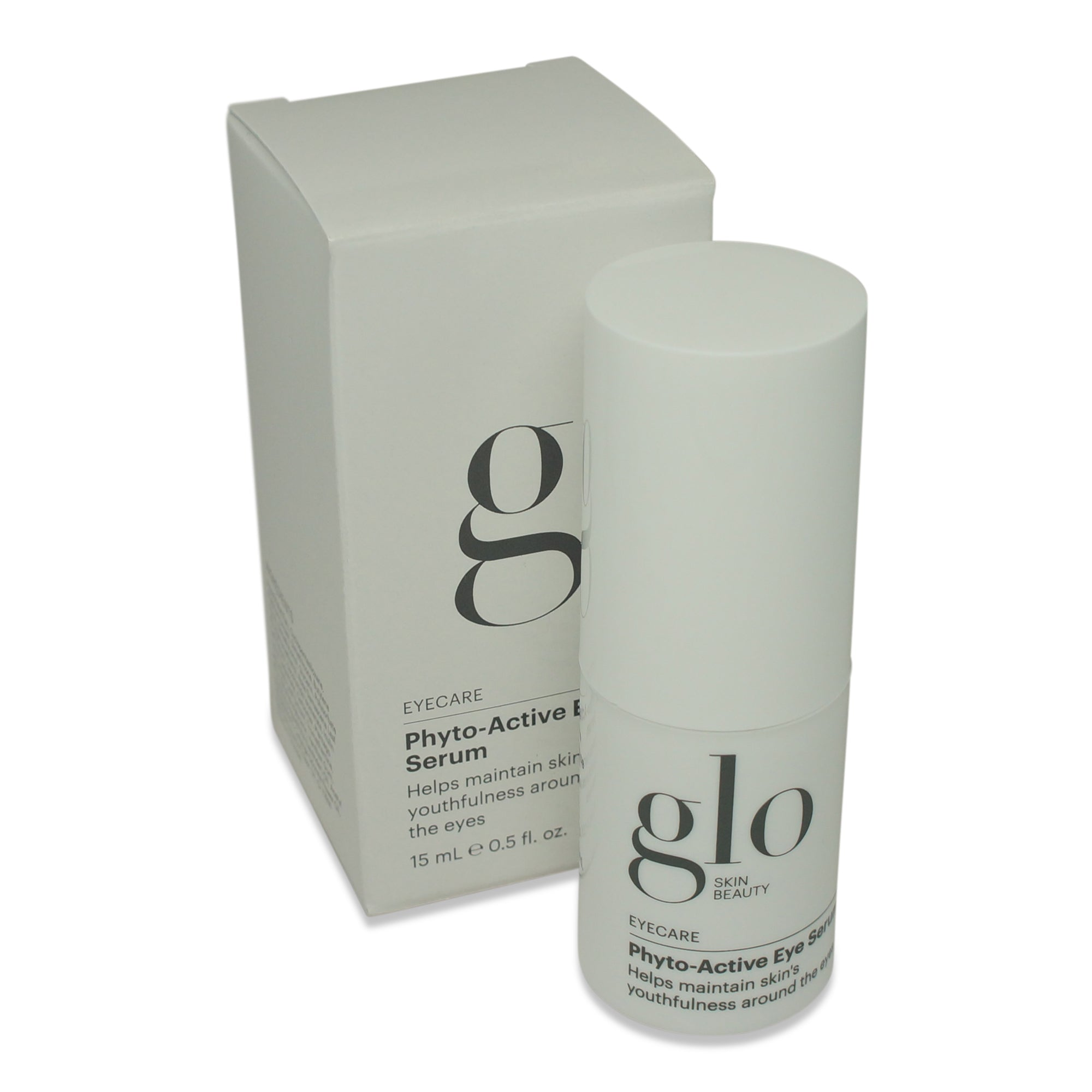 GLO SKIN ~ LIP & EYECARE ~ PHYTO-ACTIVE EYE SERUM ~ .5 oz