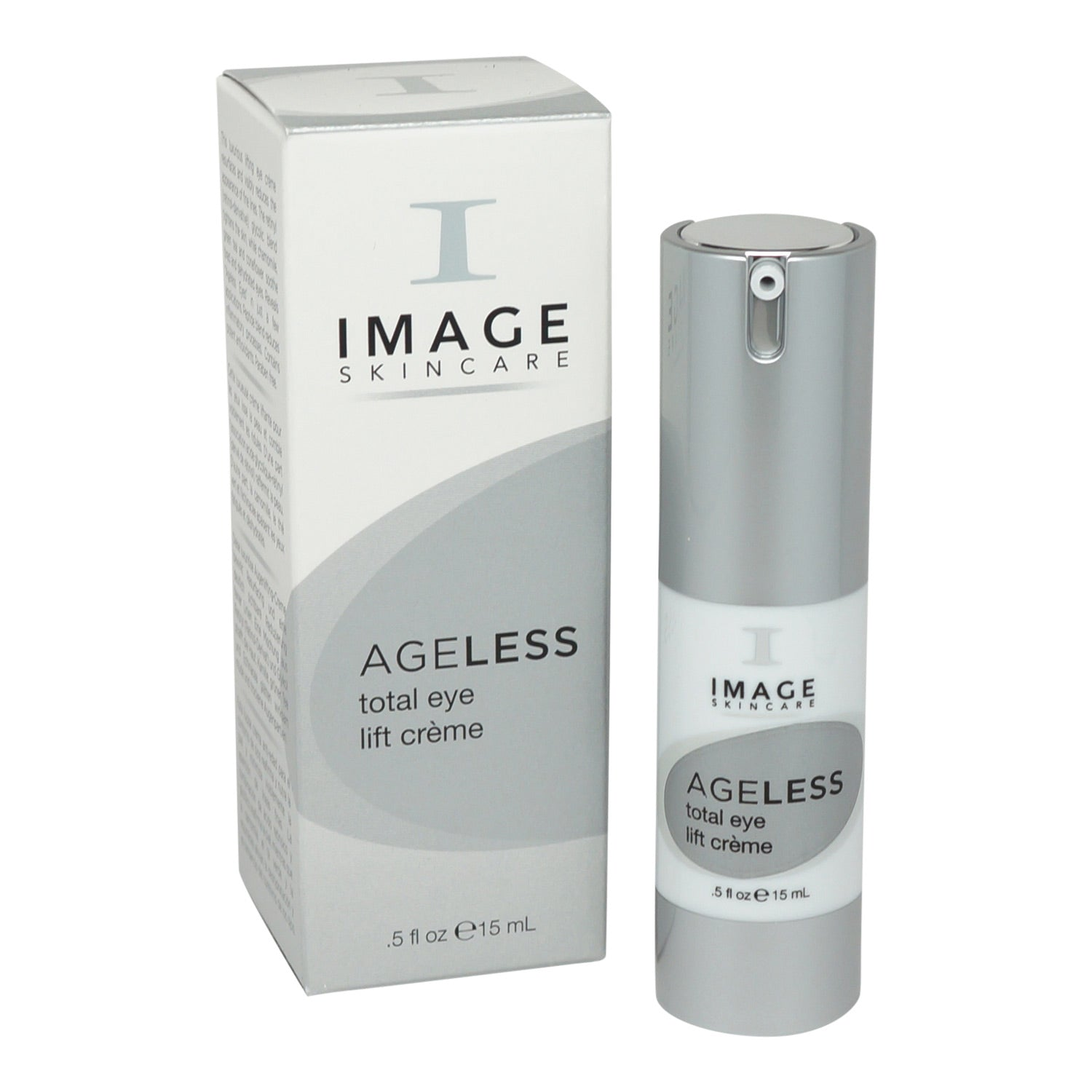 IMAGE ~ AGELESS ~ FORMULATED FOR AGING SKIN TOTAL EYE LIFT CREME ~ 0.5OZ