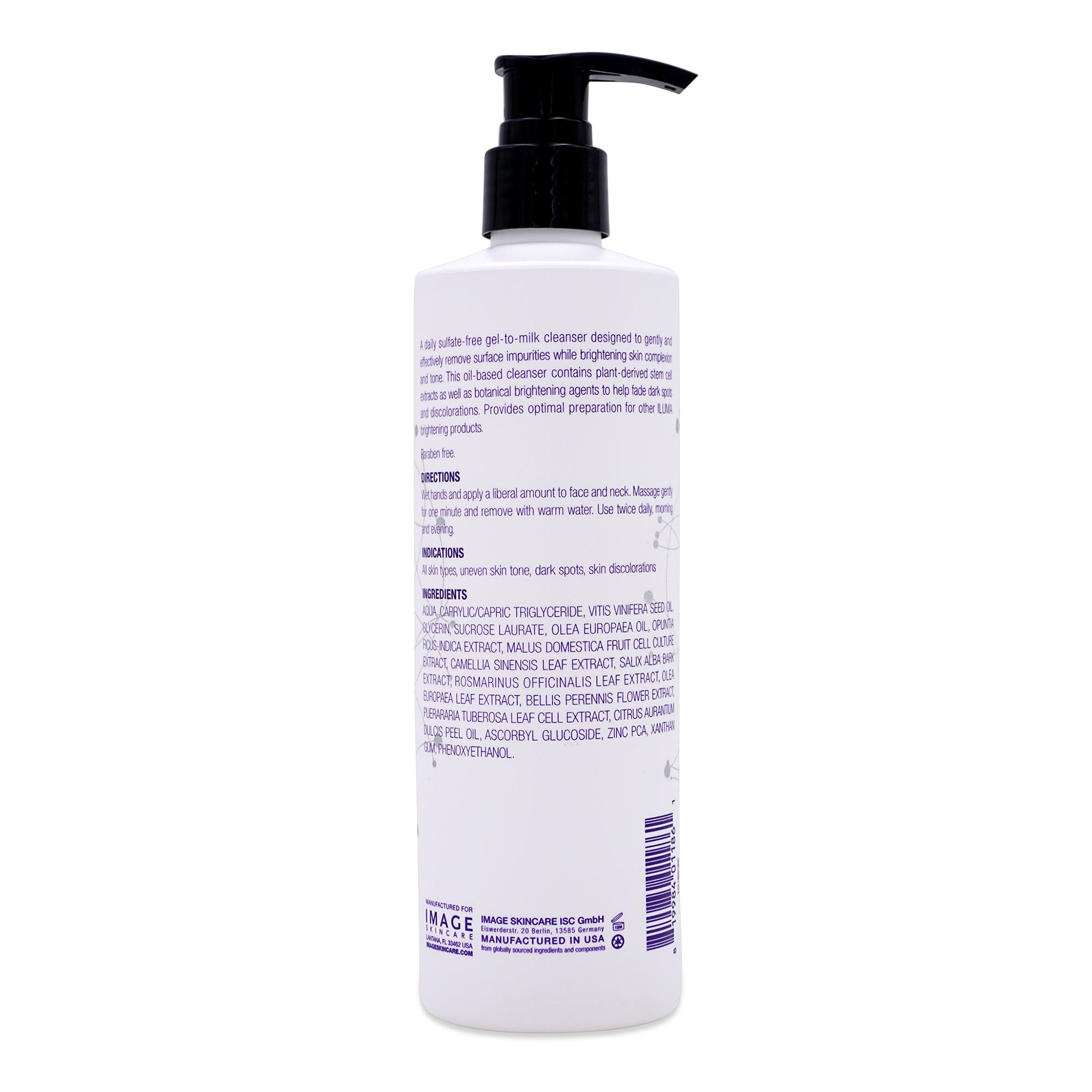 IMAGE Skincare ILUMA Intense Brightening Cleanser 12 oz.