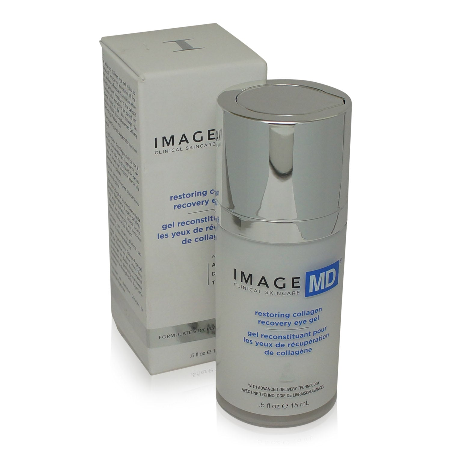 IMAGE ~ MD ~ RESTORING COLLAGEN RECOVERY EYE GEL WITH ADT ~ 0.5OZ