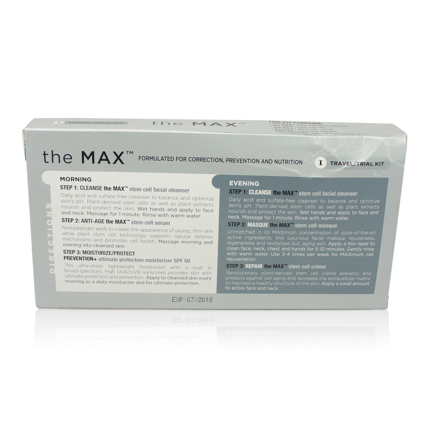 IMAGE Skincare The MAX Trial Travel Kit to Correct Prevent Nurture