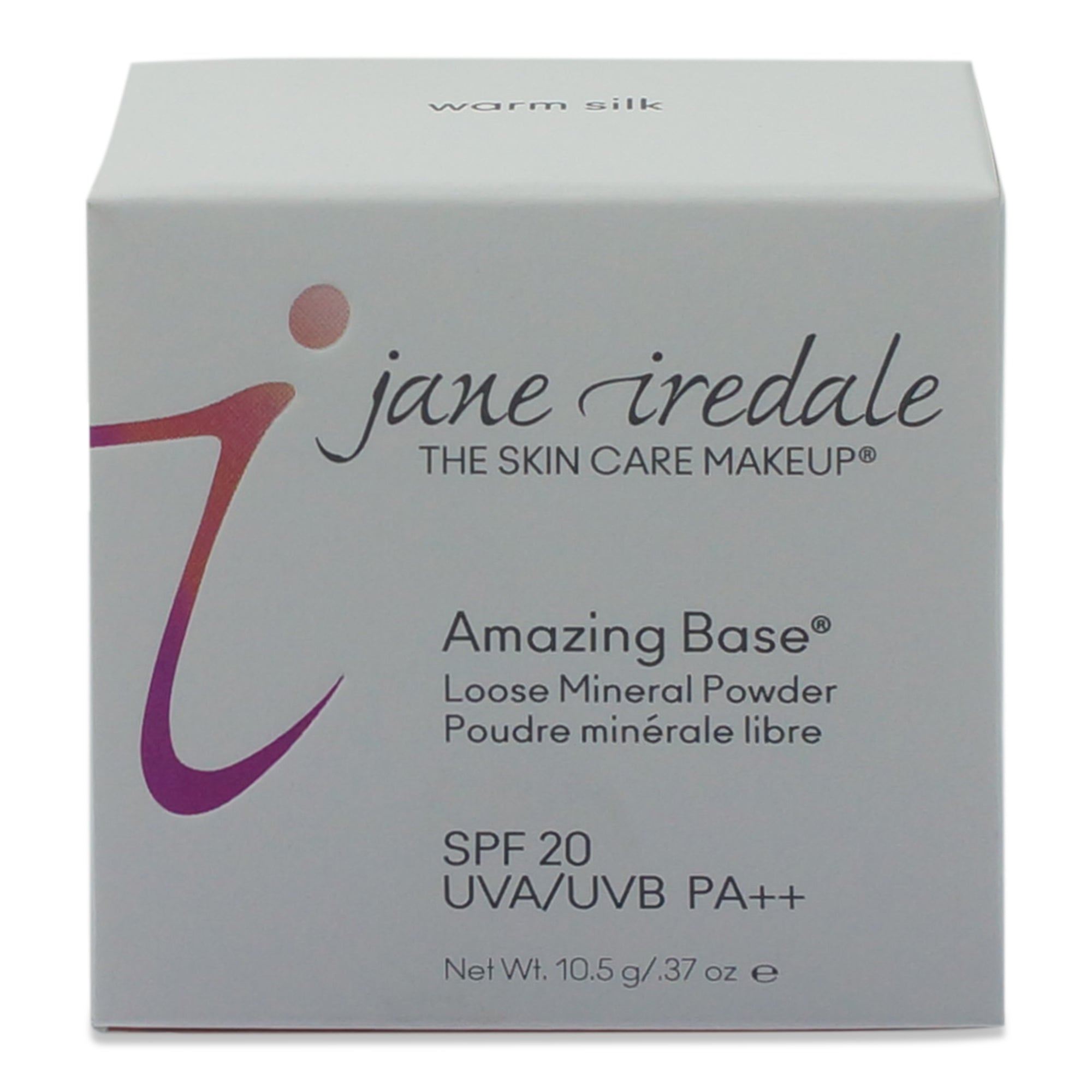 jane iredale Amazing Base SPF 20 Loose Mineral Foundation-Warm Silk 0.37 Oz