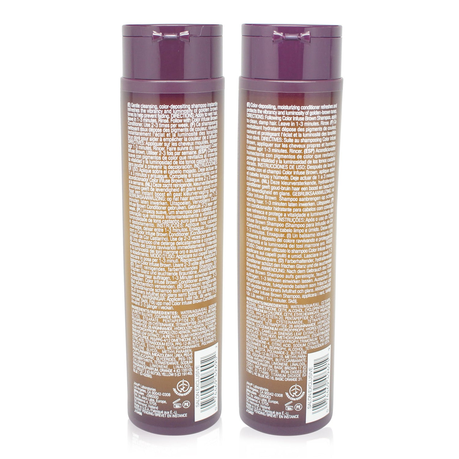 Joico Color Infuse Golden Brown Shampoo & Conditioner Combo Pack 10.1 Oz each