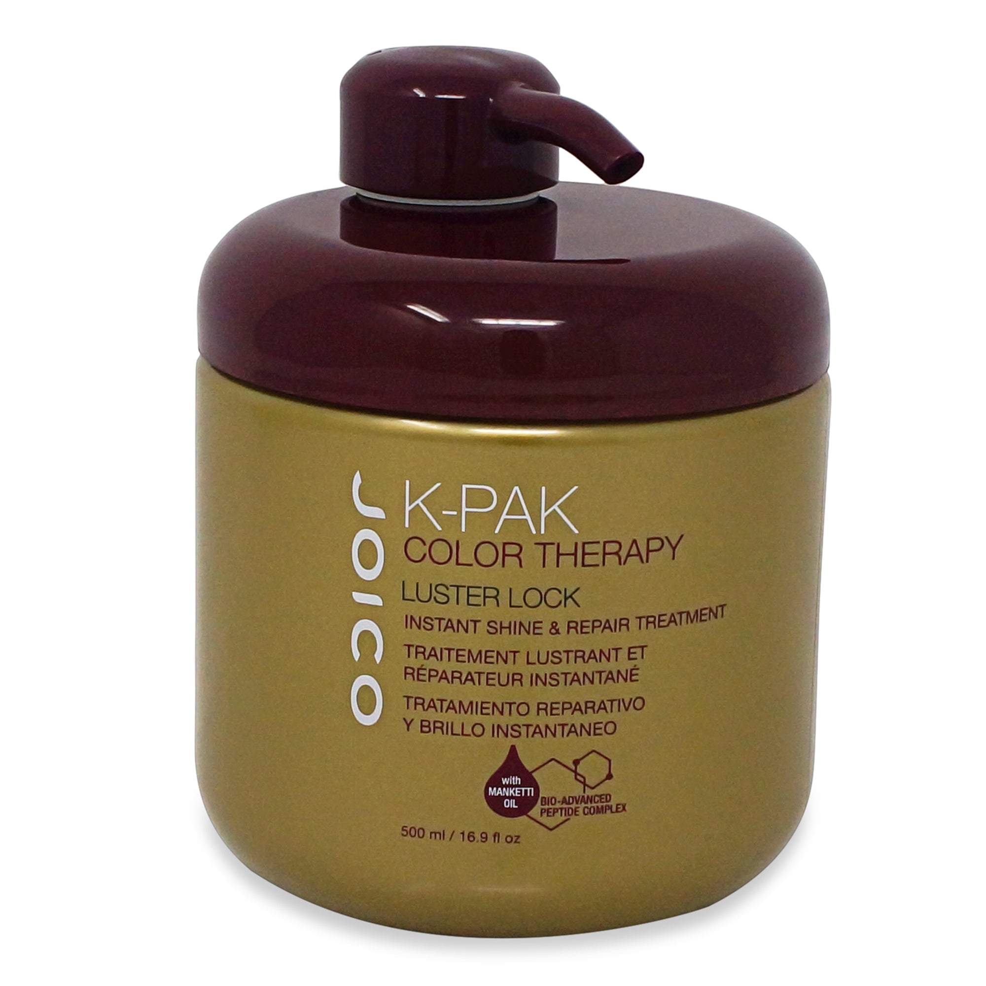 JOICO ~ K-PAK COLOR THERAPY ~ LUSTER LOCK TREATMENT ~ 500ML
