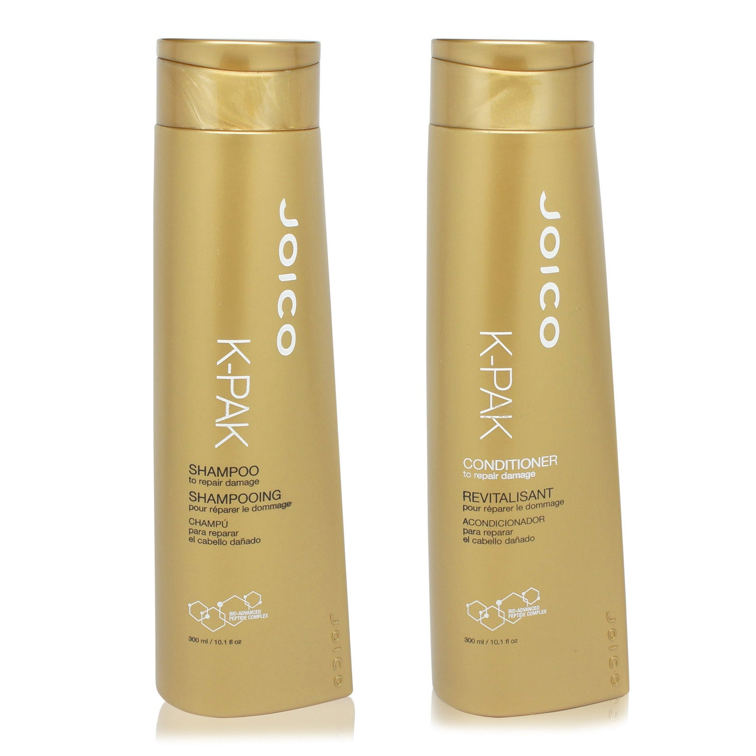 JOICO ~ K-PAK ~ SHAMPOO AND CONDITIONER 300ML COMBO PACK
