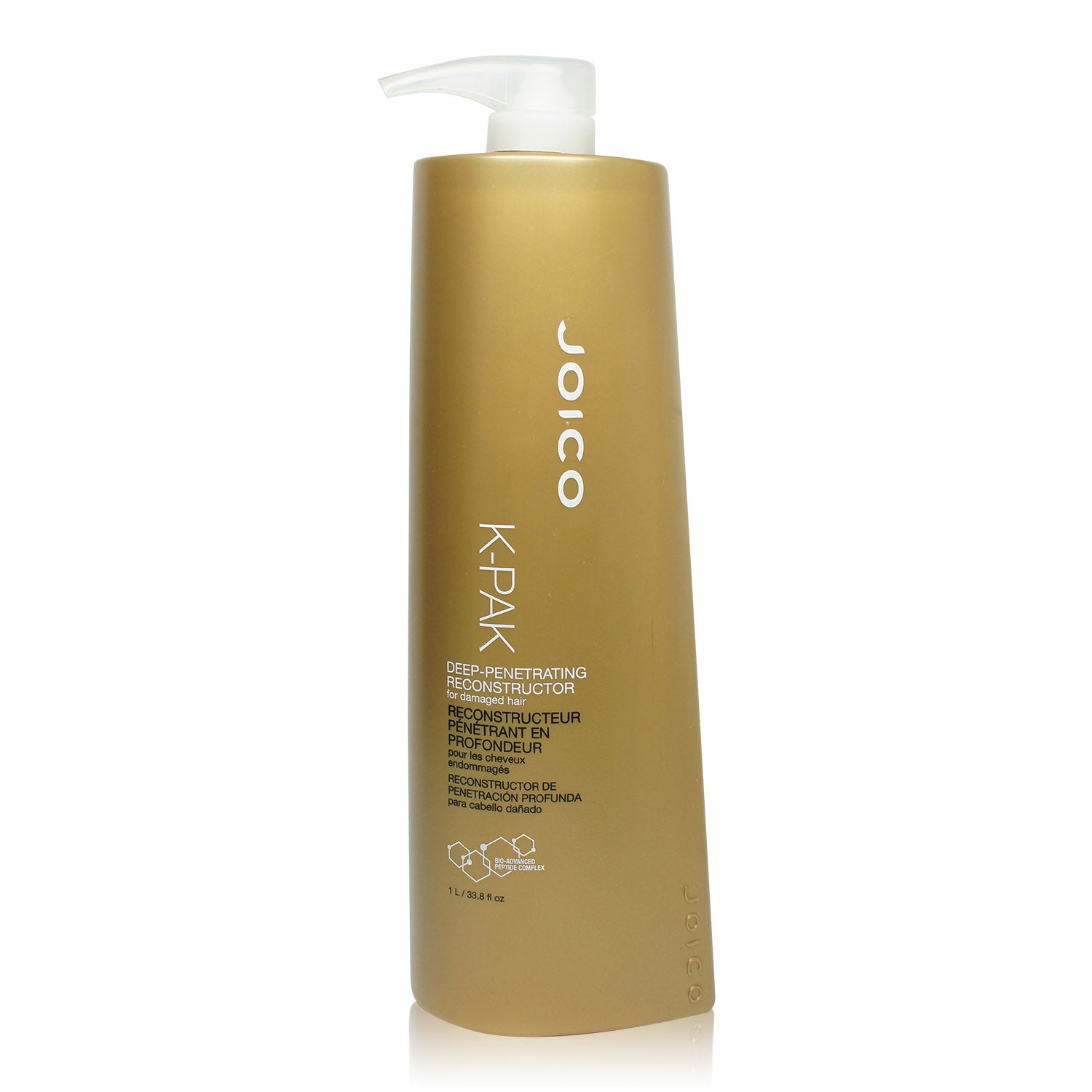 JOICO ~ K-PAK ~ DEEP-PENETRATING RECONSTRUCTOR FOR DAMAGED HAIR ~ LITER