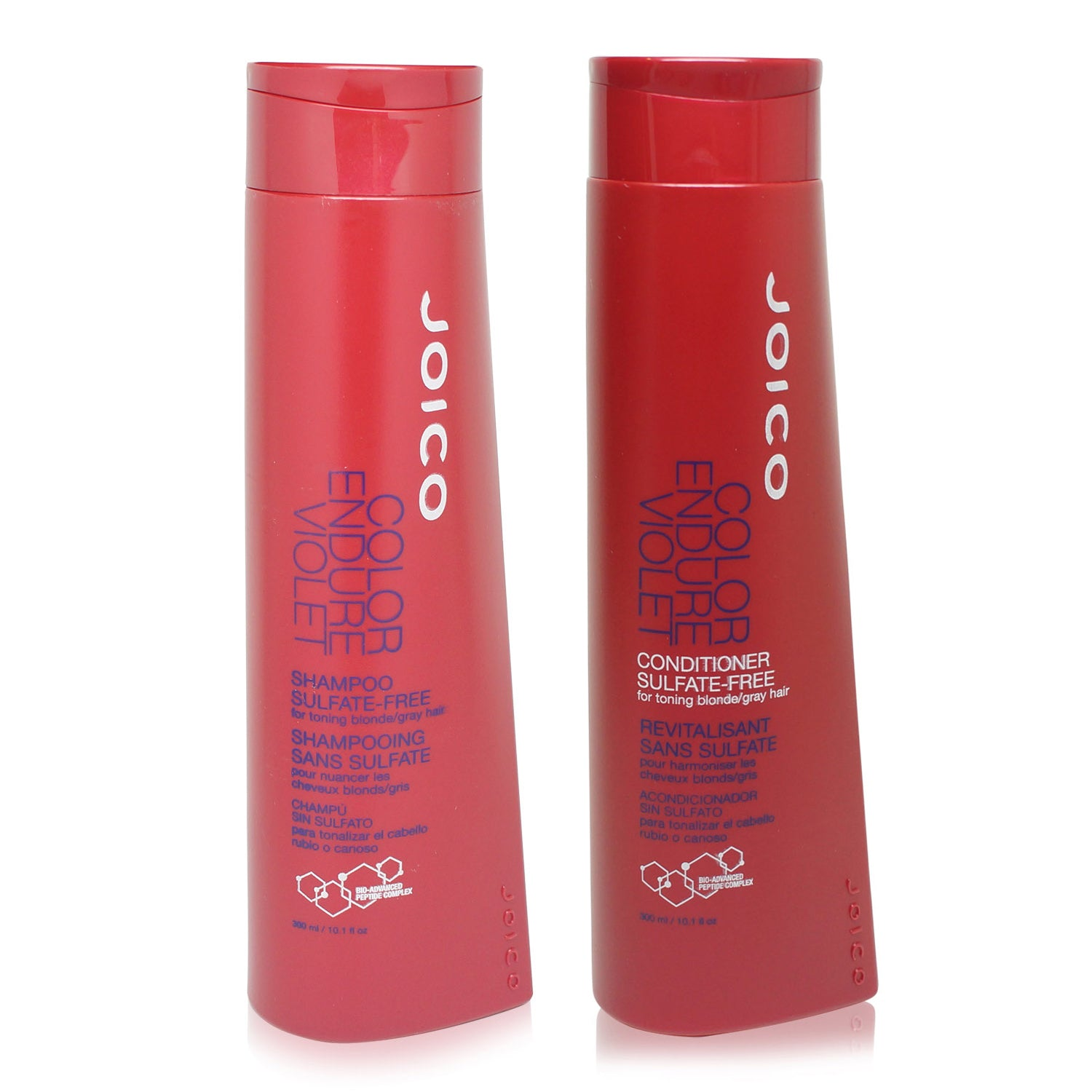 JOICO ~ COLOR ENDURE VIOLET ~ SHAMPOO AND CONDITIONER ~ 300ML COMBO PACK