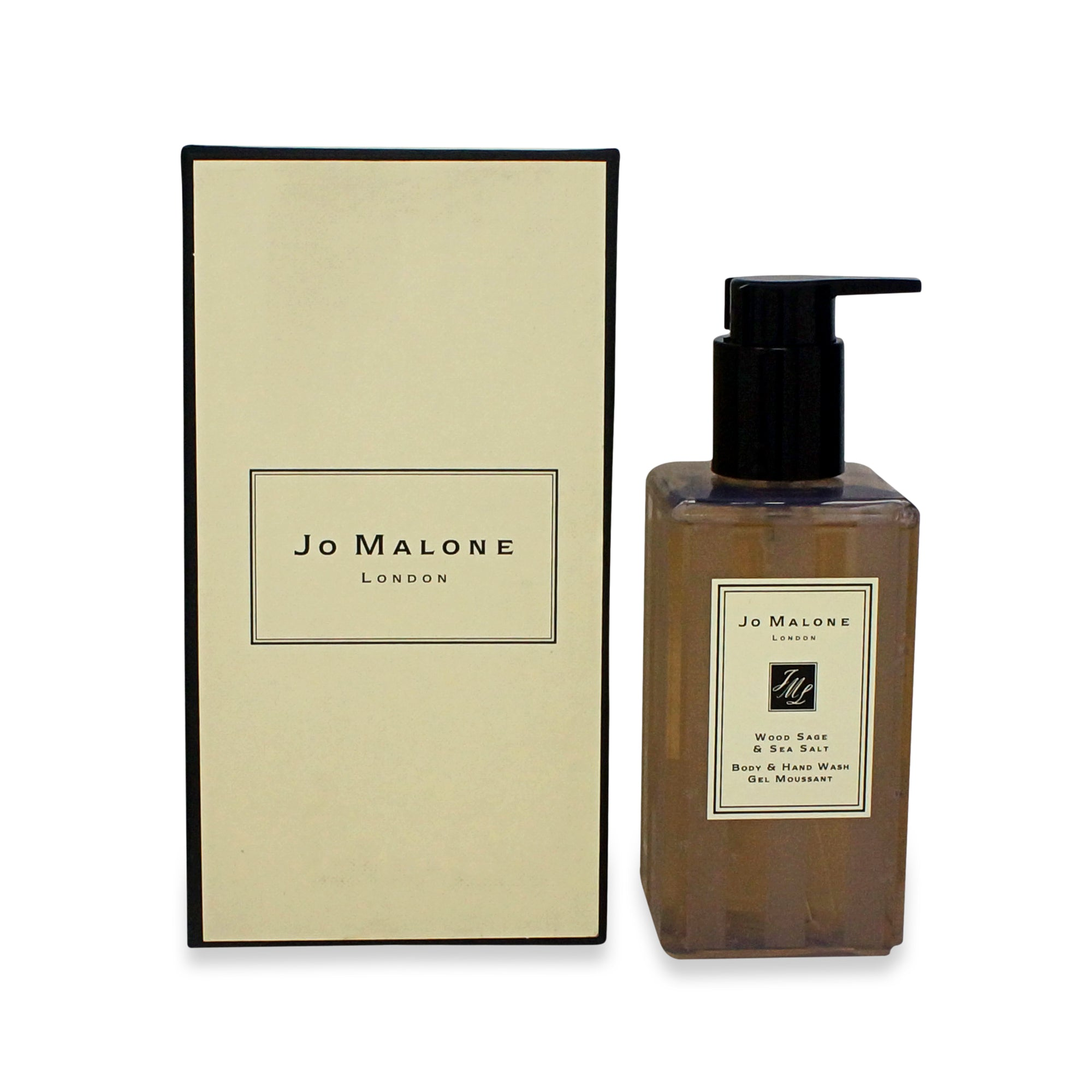 JO MALONE ~ BODY & HAND WASH ~ WOOD SAGE & SEA SALT ~ 8.5OZ
