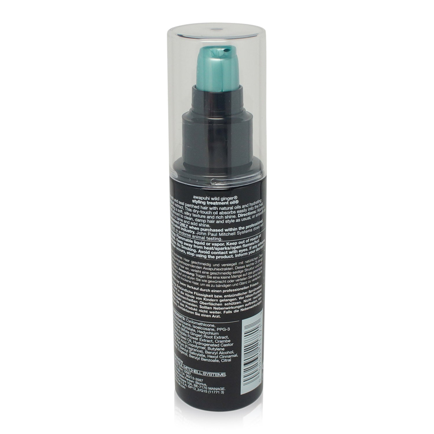 Paul Mitchell Awapuhi Wild Ginger Styling Treatment Oil 3.4 oz.