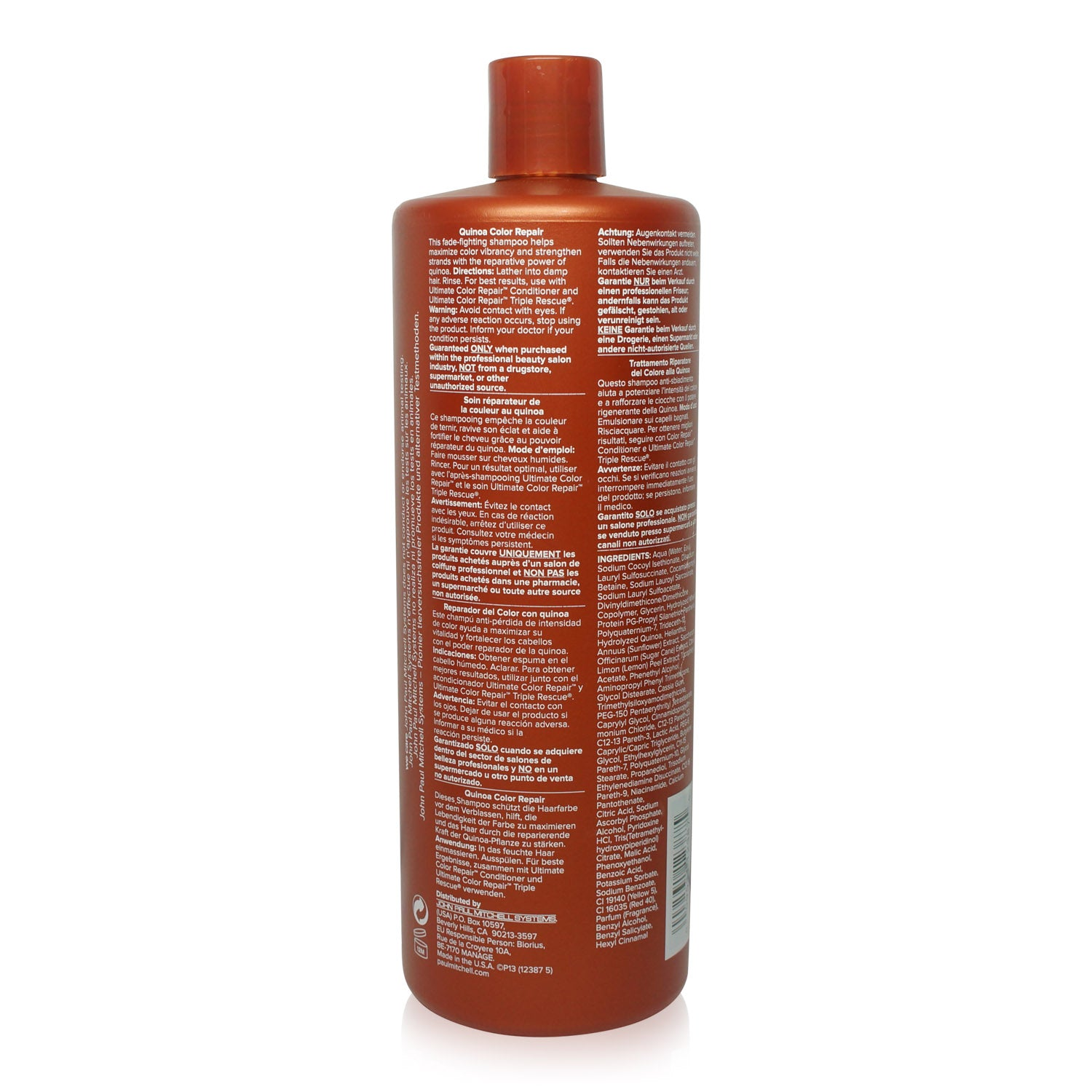 Paul Mitchell Ultimate Color Repair Shampoo 33.8 oz.