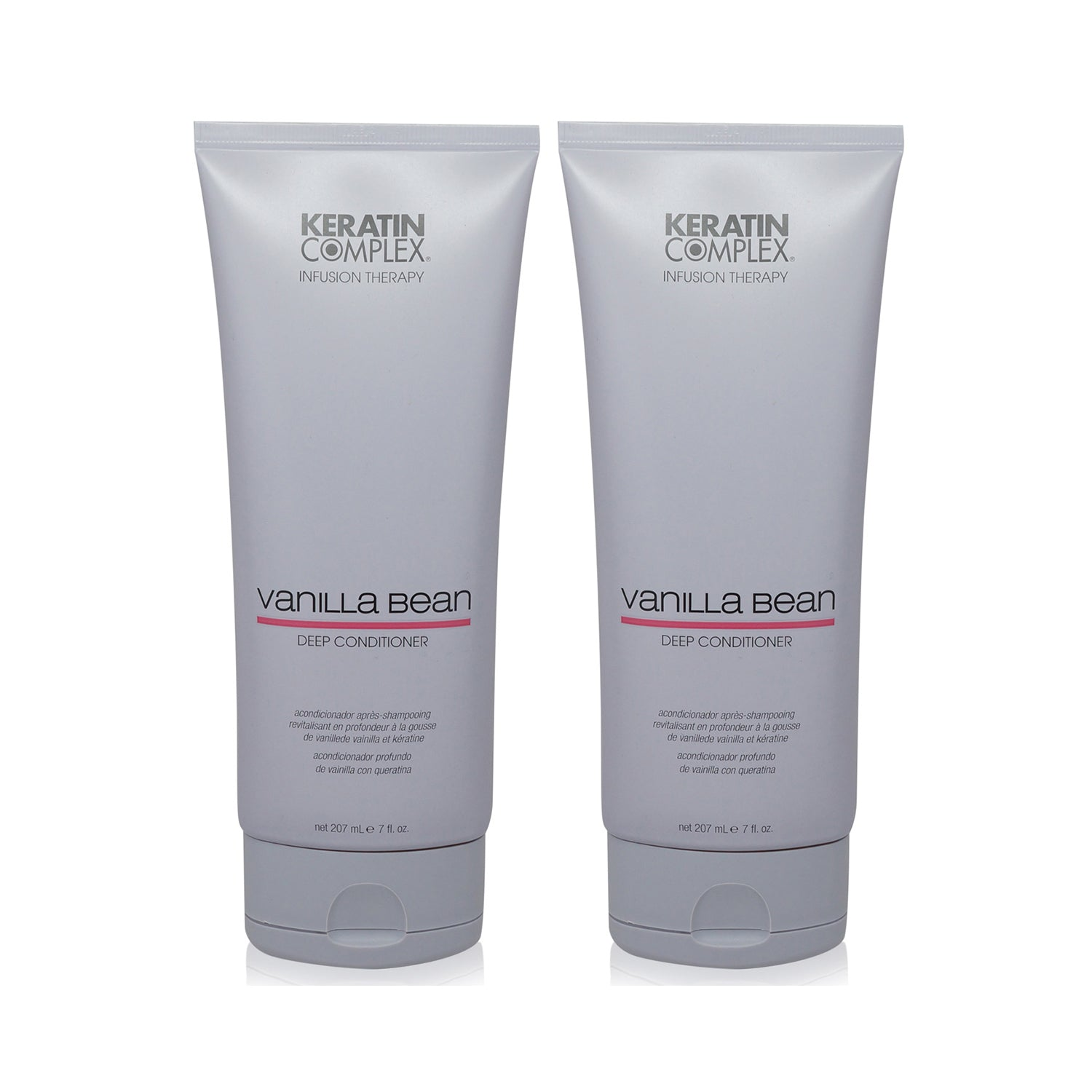 KERATIN COMPLEX ~ VANILLA BEAN CONDITIONER ~ 7OZ ~ NEW 2 PACK