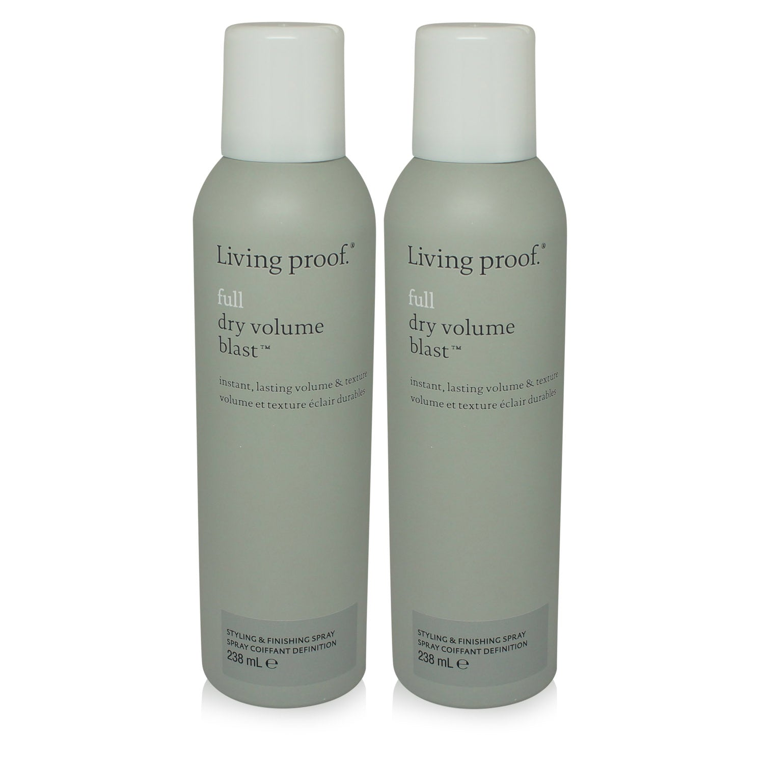 LIVING PROOF ~ FULL ~ DRY VOLUME BLAST ~ 7.5 OZ ~ 2 PACK
