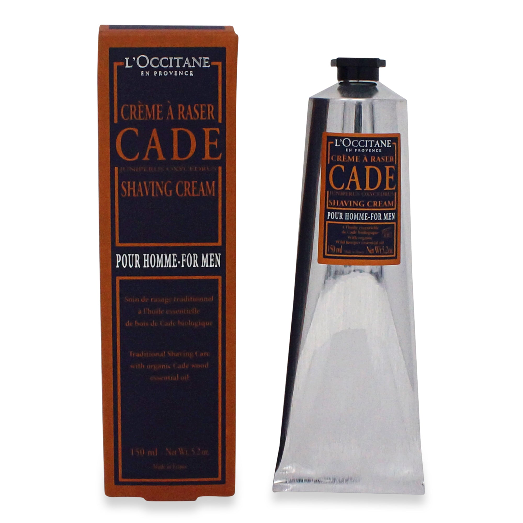 LOCCITANE ~ CADE SHAVING CREAM FOR MEN ~ 150 ML