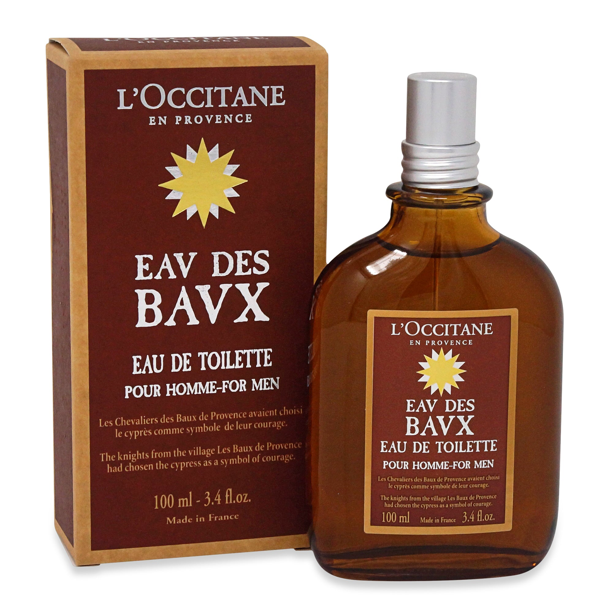 LOCCITANE ~ EDT EAV DES BAVX FOR MEN ~ 3.4OZ
