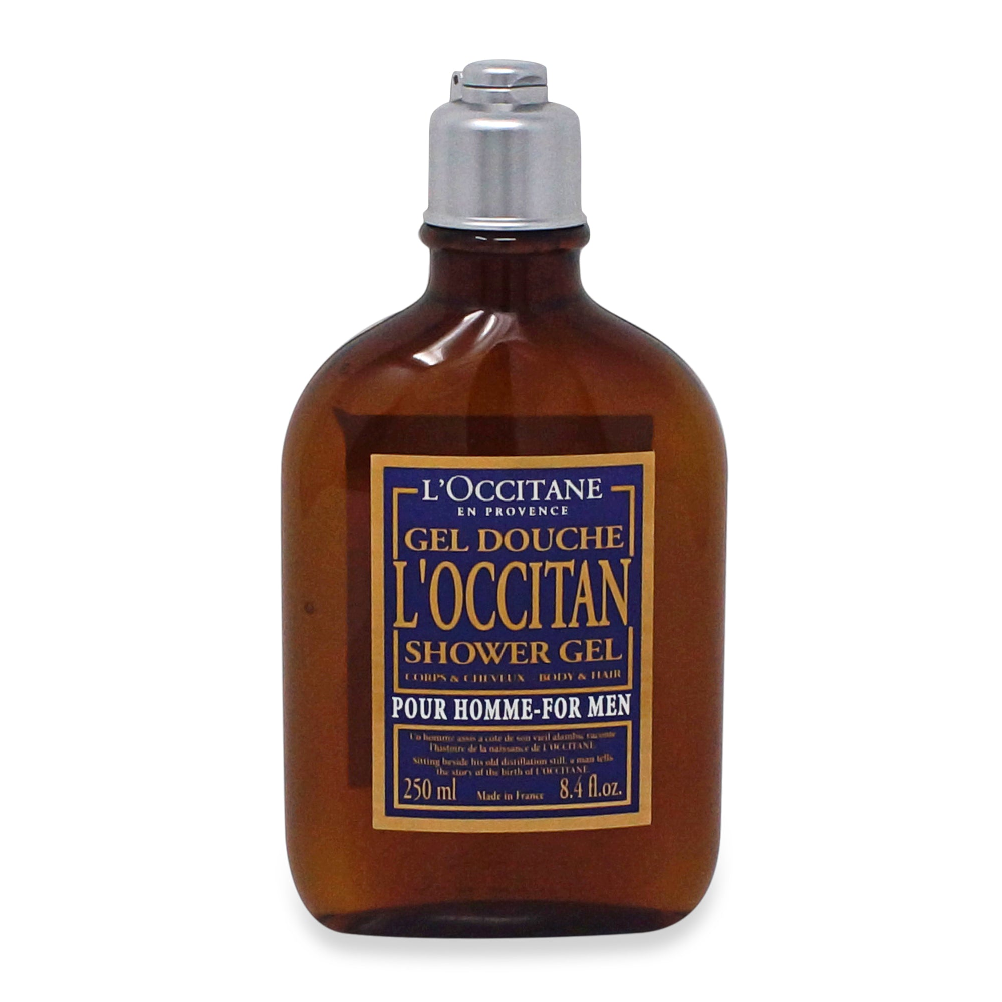 LOCCITANE ~ SHOWER GEL FOR MEN ~ 8.4OZ