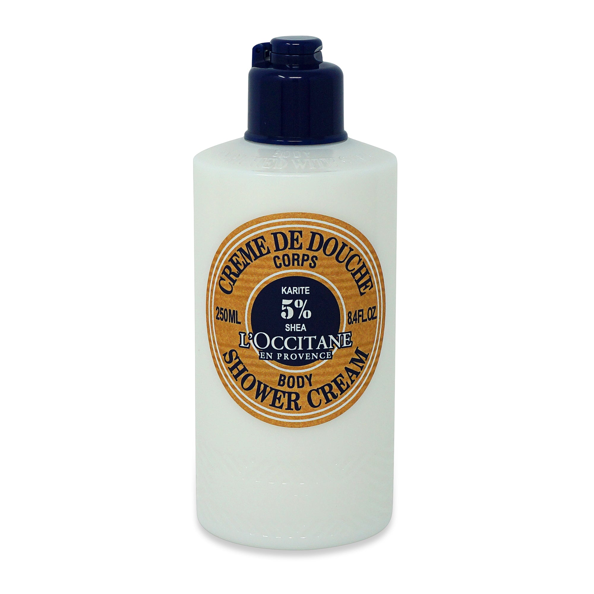 LOCCITANE ~ SHEA BUTTER BODY SHOWER CREAM ~ 8.4OZ