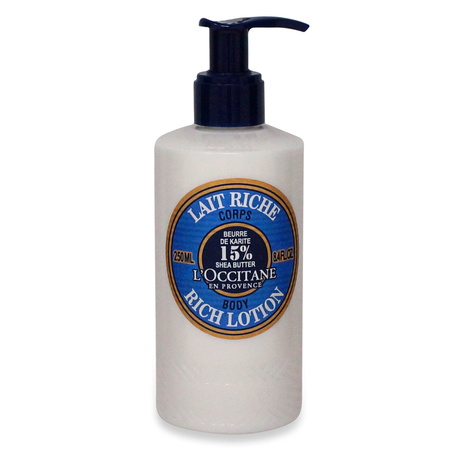 LOCCITANE ~ SHEA BUTTER RICH BODY LOTION ~ 8.4 OZ