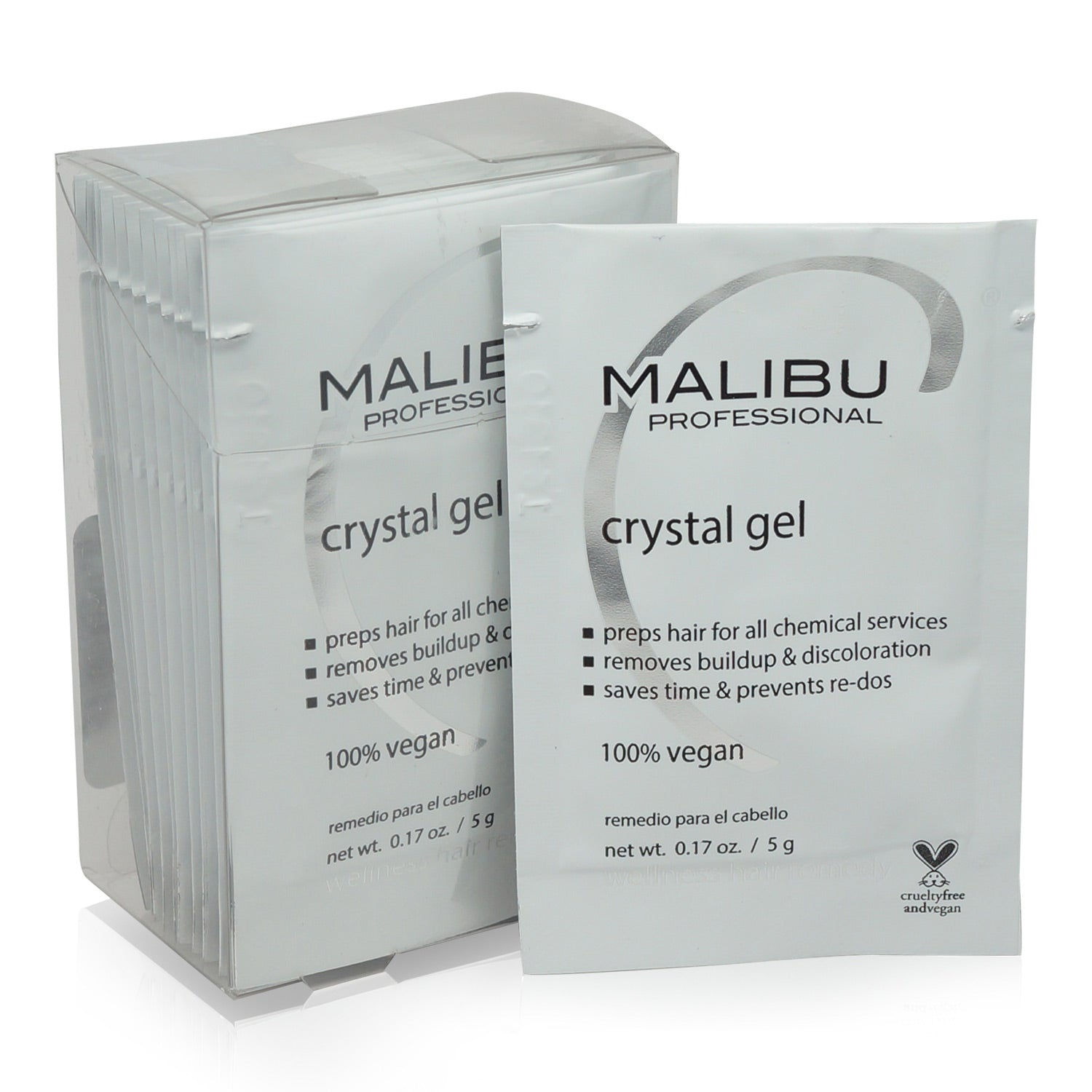 MALIBU ~ CRYSTAL GEL BOX OF 12