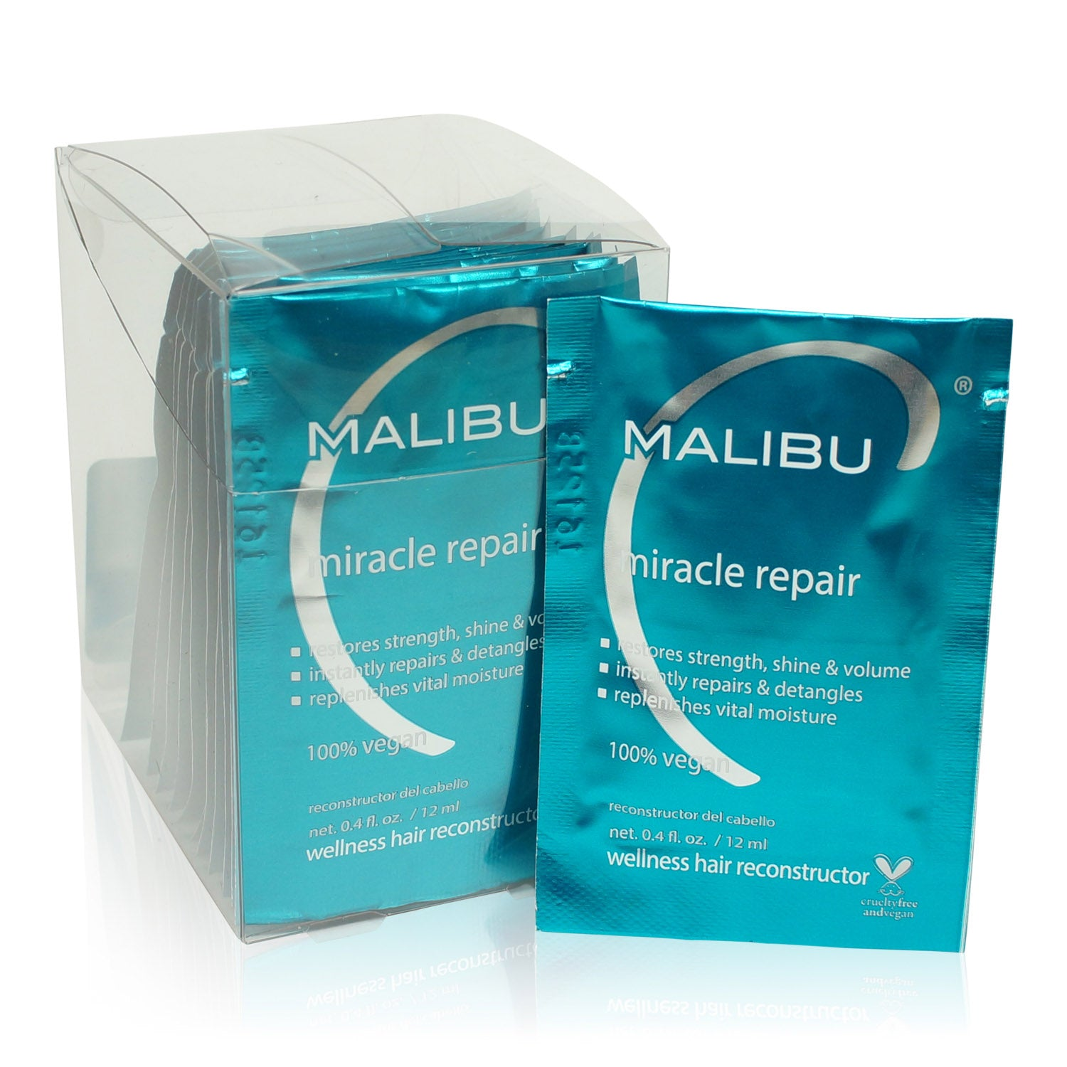 MALIBU ~ MIRACLE REPAIR WELLNESS RECONSTRUCTOR (12 PK)