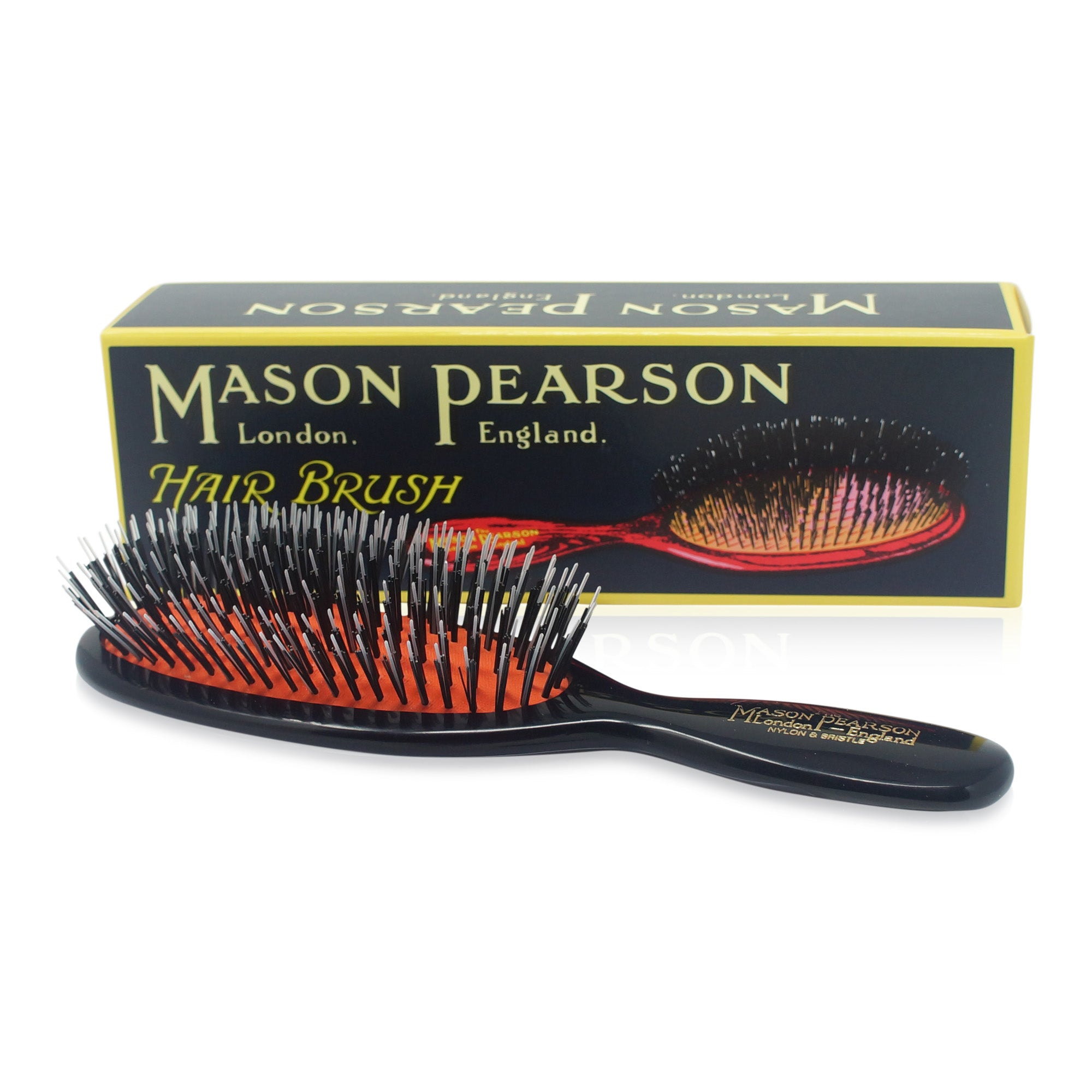 MASON PEARSON BRUSHES ~ BRISTLE & NYLON ~ POCKET