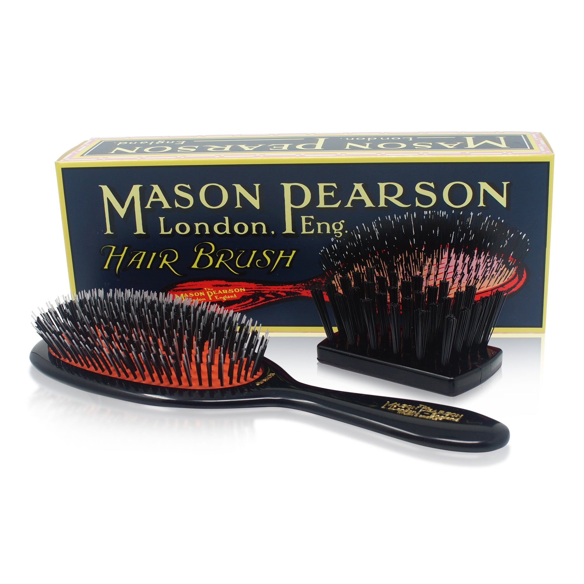 MASON PEARSON BRUSHES ~ BRISTLE & NYLON ~ JUNIOR