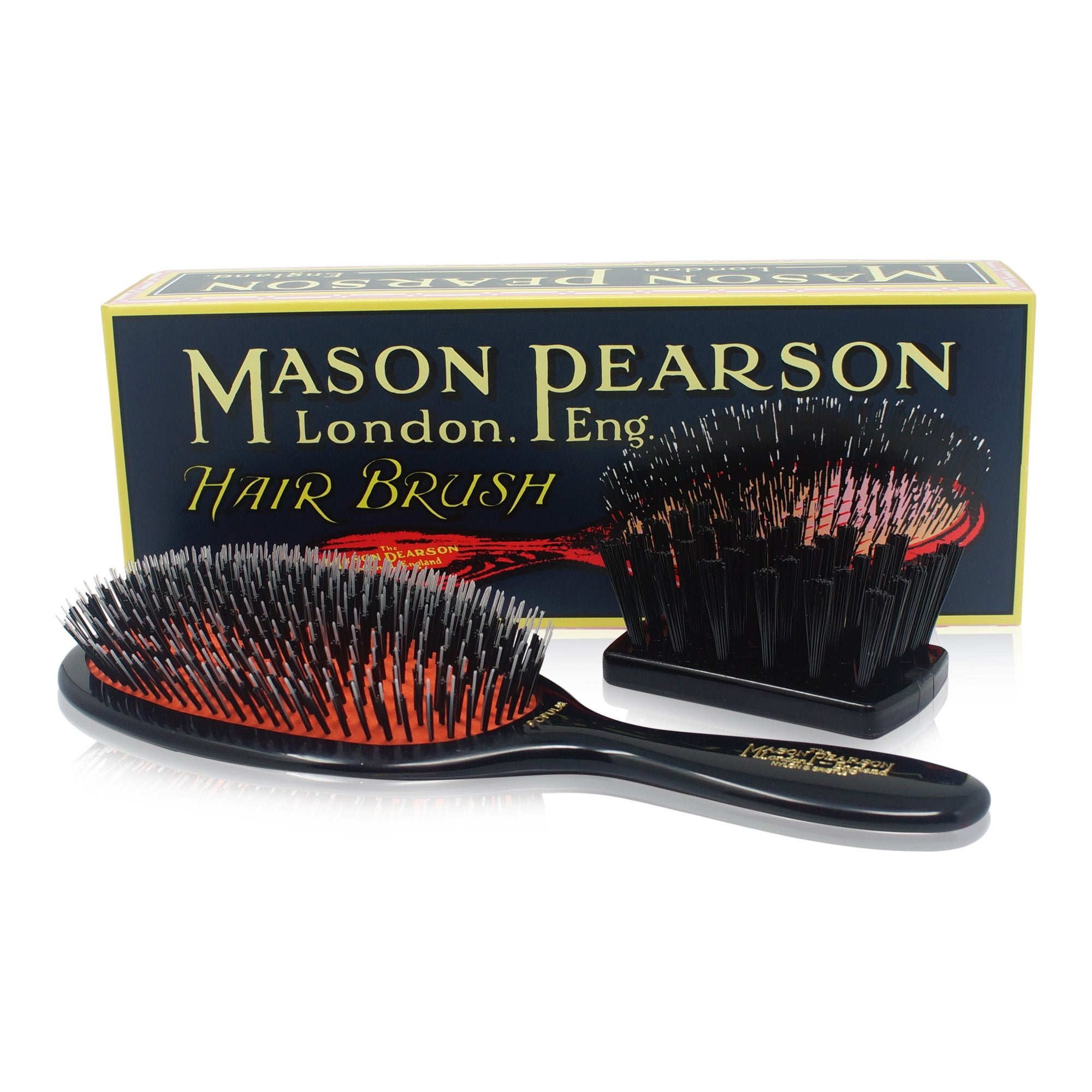 MASON PEARSON BRUSHES ~ BRISTLE & NYLON ~ POPULAR