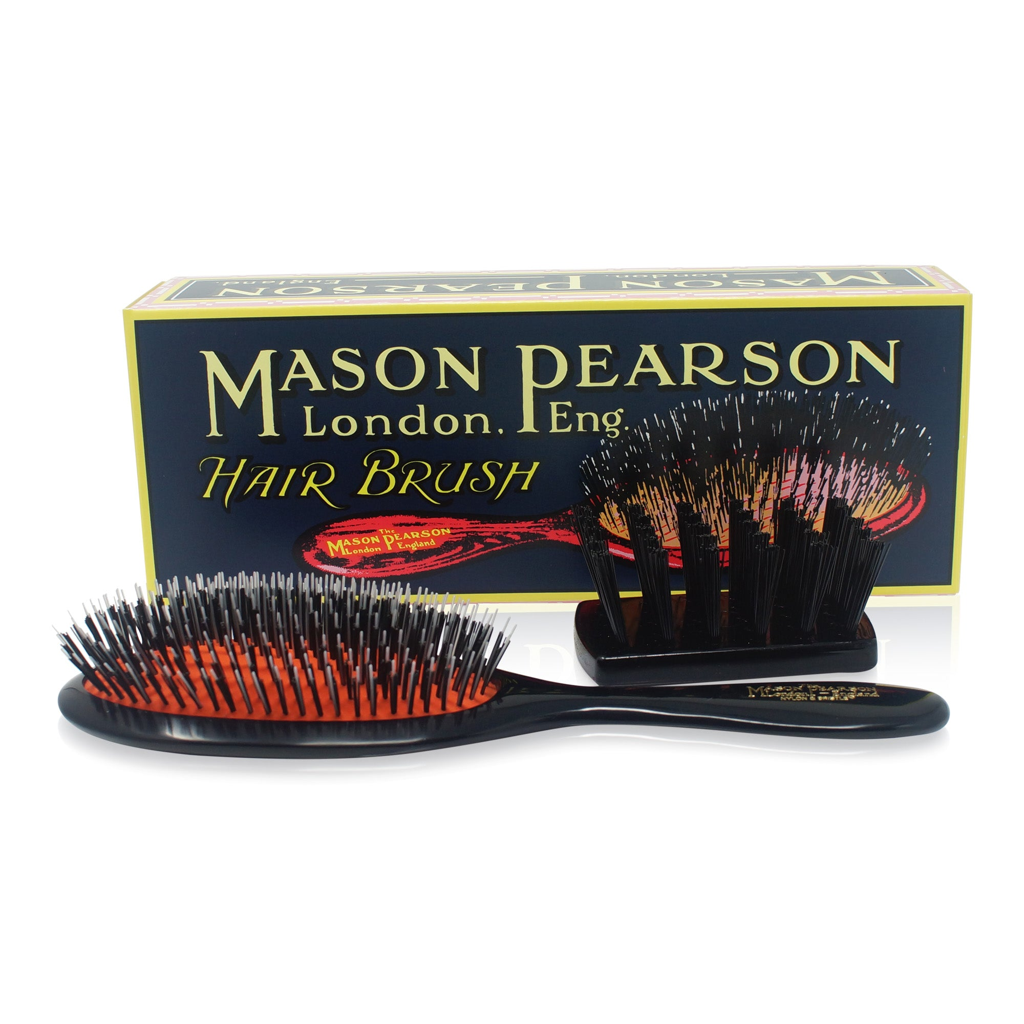 MASON PEARSON BRUSHES ~ BRISTLE & NYLON ~ HANDY BRISTLE & NYLON