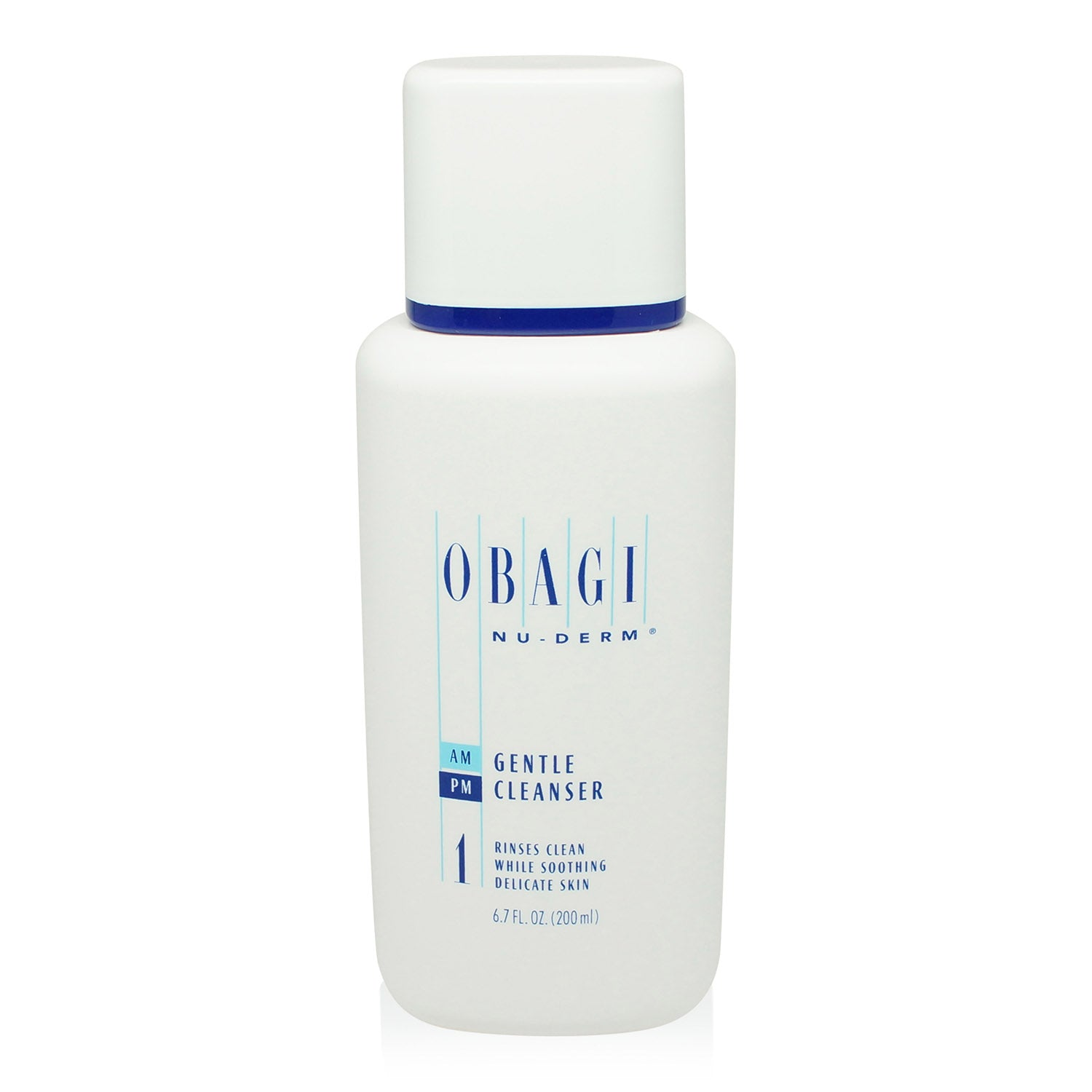 OBAGI ~ NUDERM ~ GENTLE CLEANSER ~ 6.7 OZ