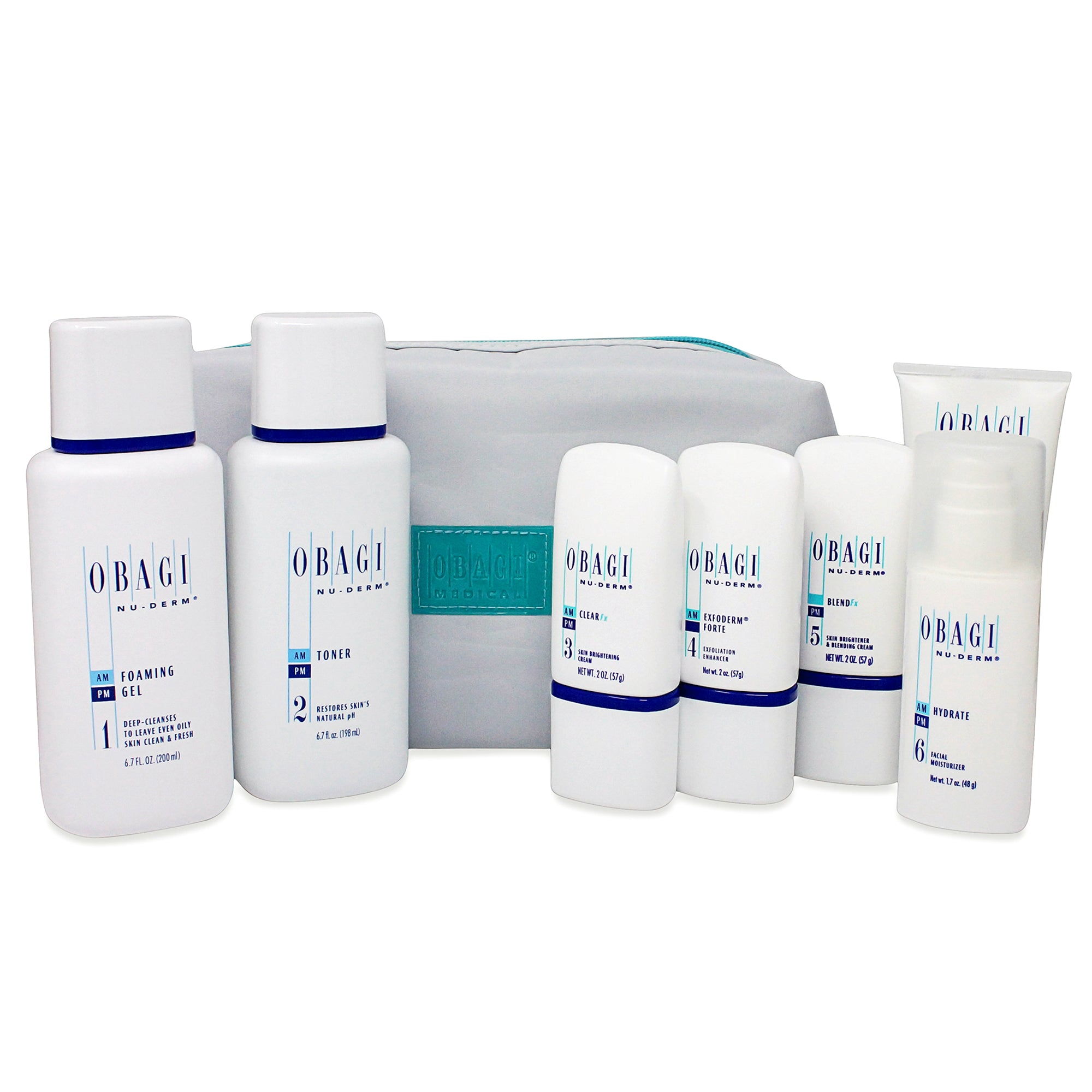 OBAGI ~ NUDERM ~ FX SYSTEM NORMAL TO OILY