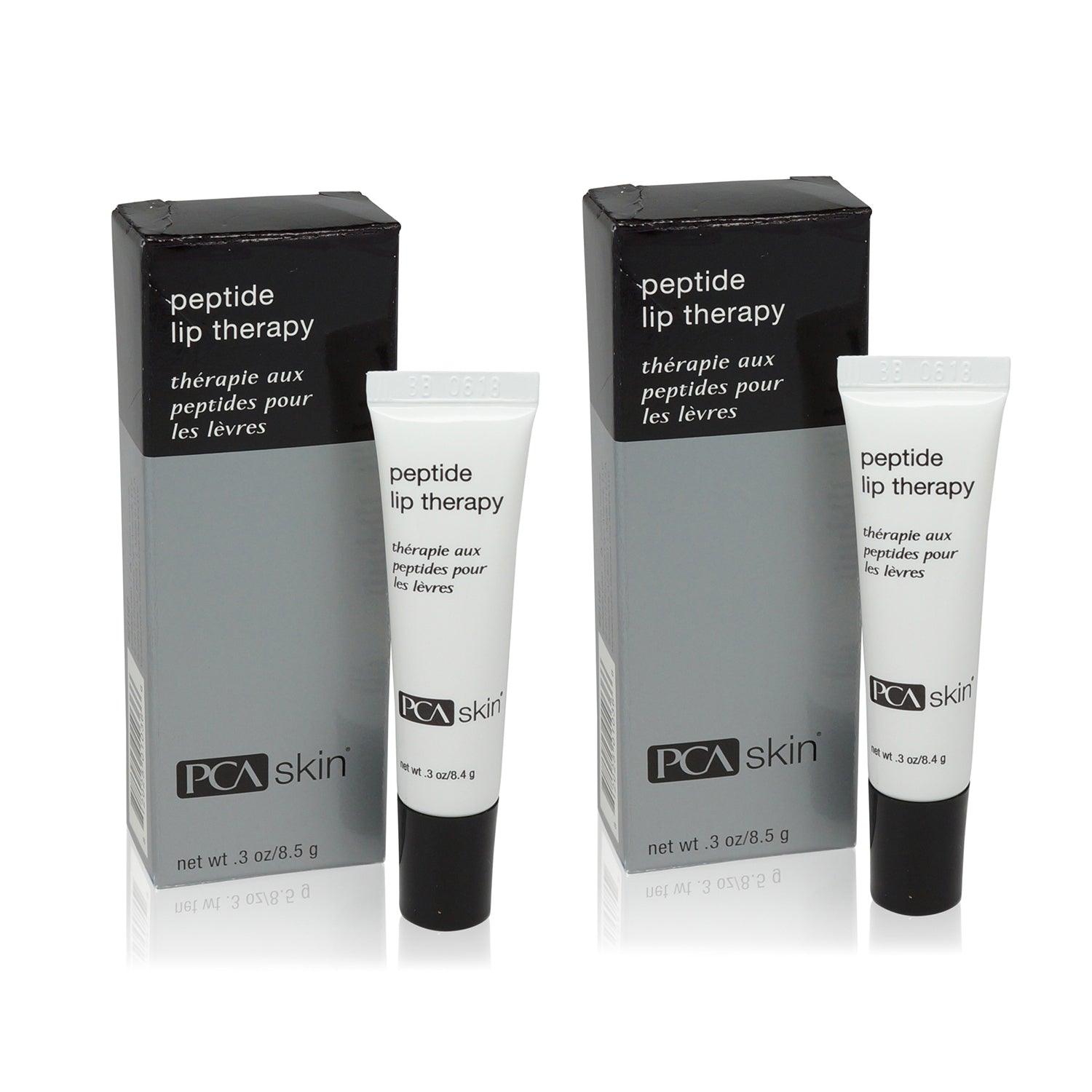 PCA SKIN ~ PEPTIDE LIP THERAPY 0.3 OZ  2 PACK