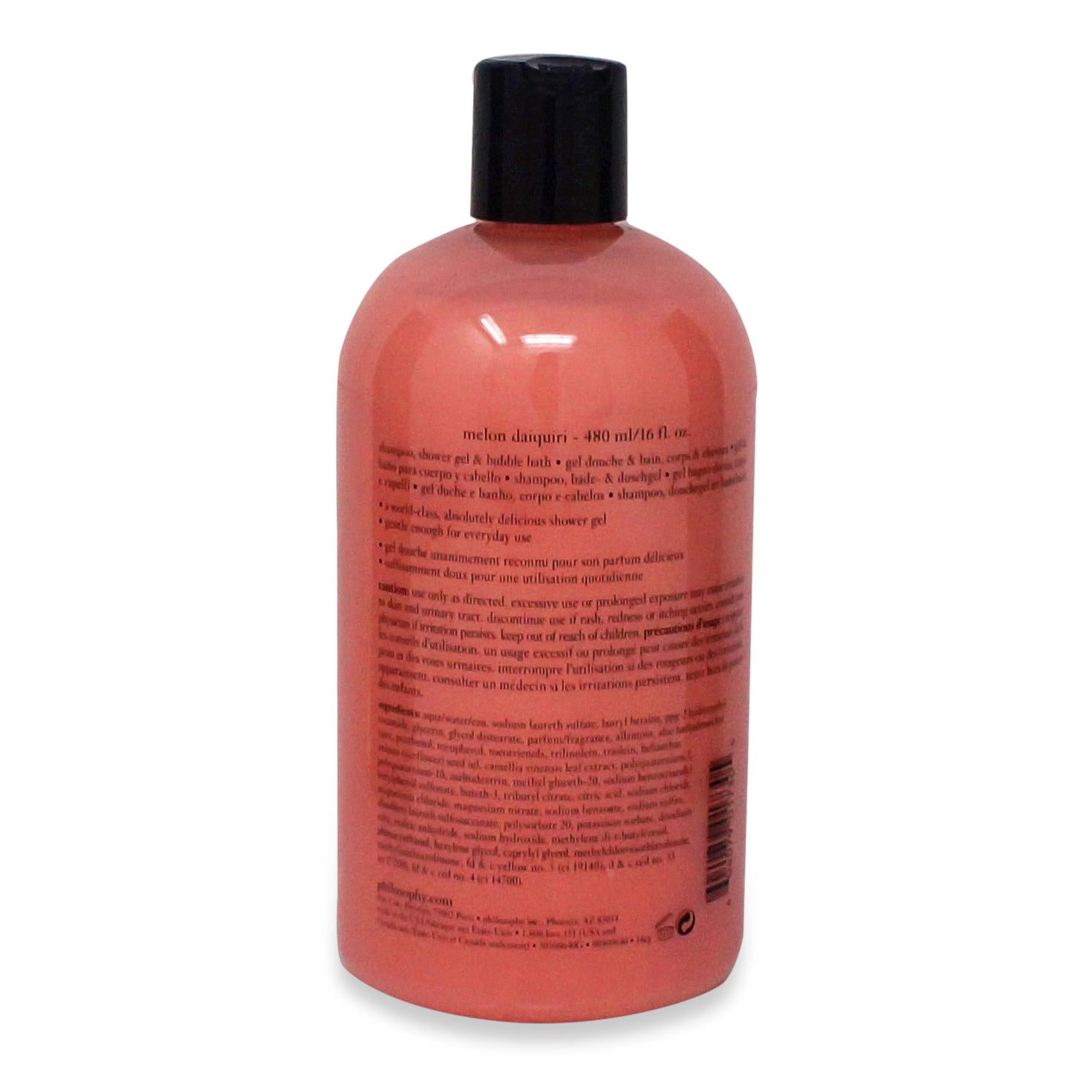 Philosophy Daiquiri Shampoo, Shower Gel & Bubble Bath 16 Oz