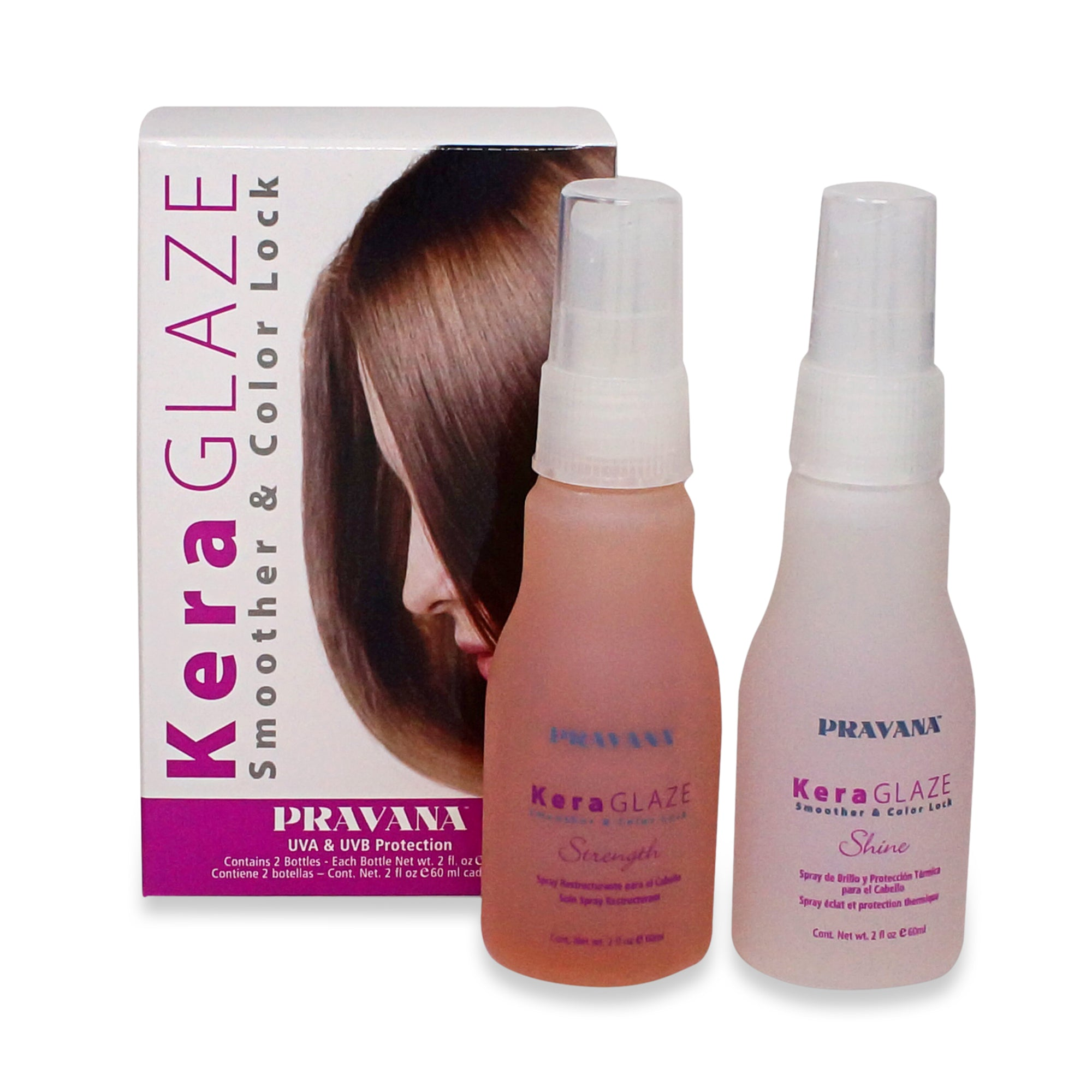 PRAVANA ~ KERAGLAZE BOX SET ~ 2PCS