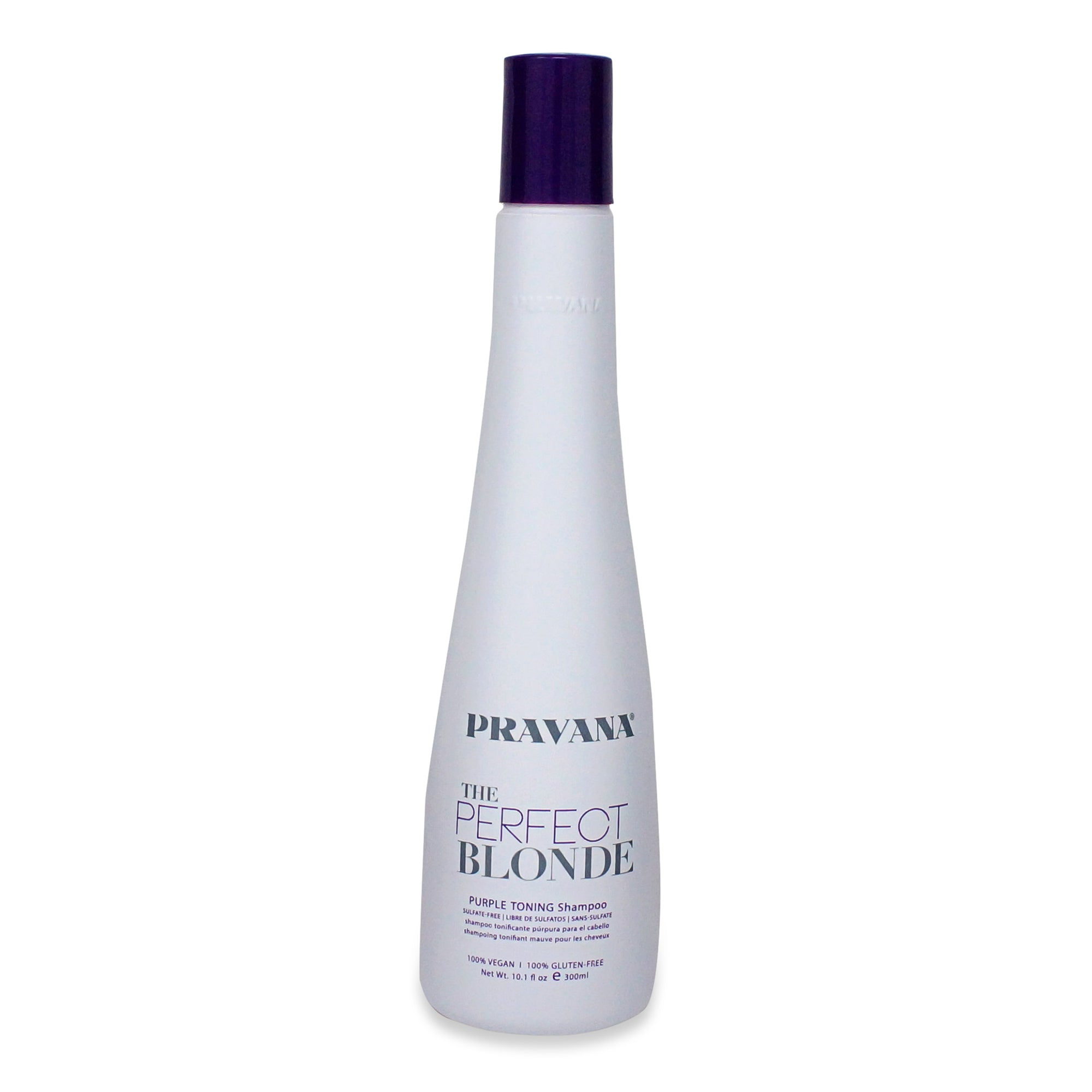 PRAVANA ~ PERFECT BLONDE PURPLE TONING SHAMPOO ~ 10.1OZ