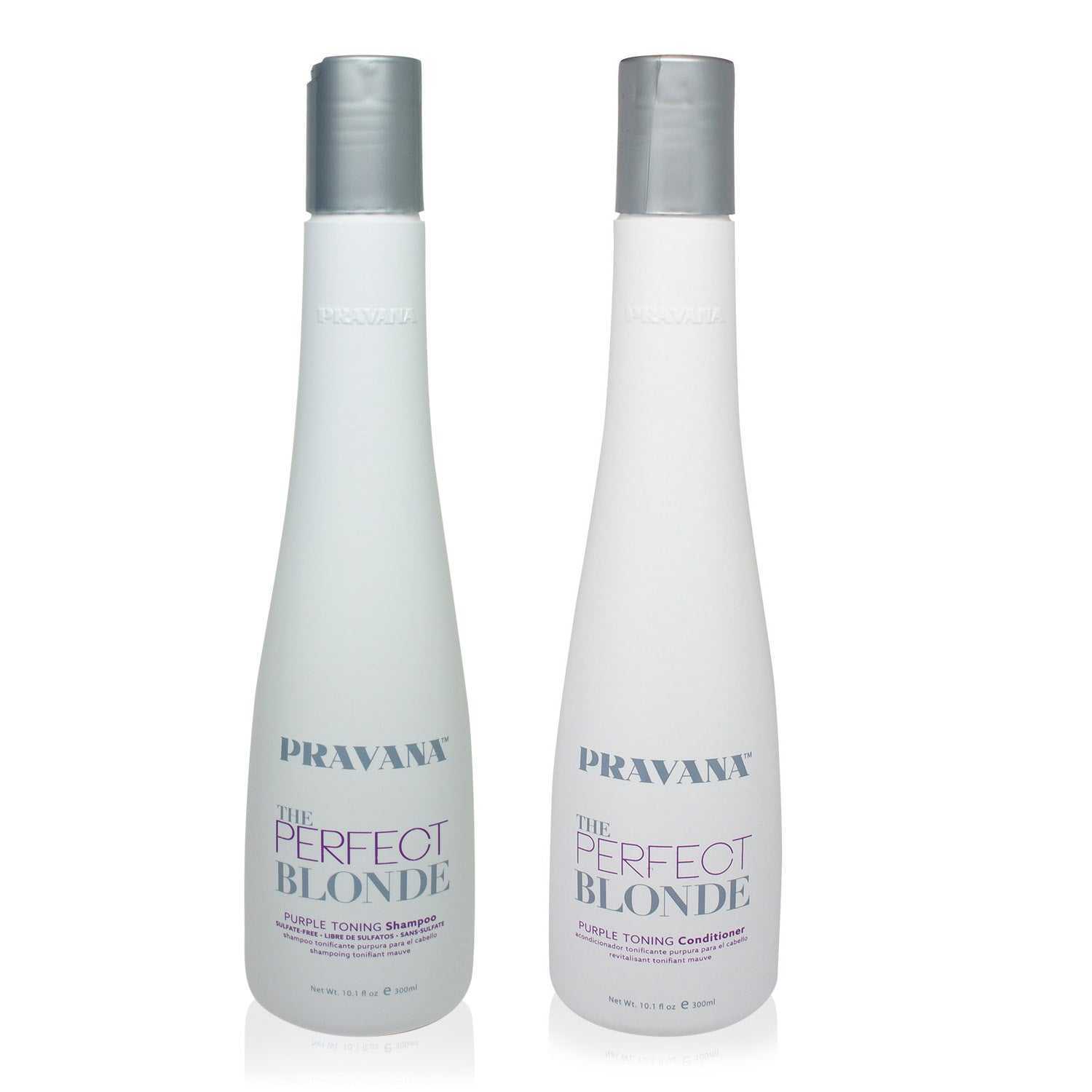 PRAVANA ~ PERFECT BLONDE SHAMPOO AND CONDITIONER 10 OZ COMBO PACK