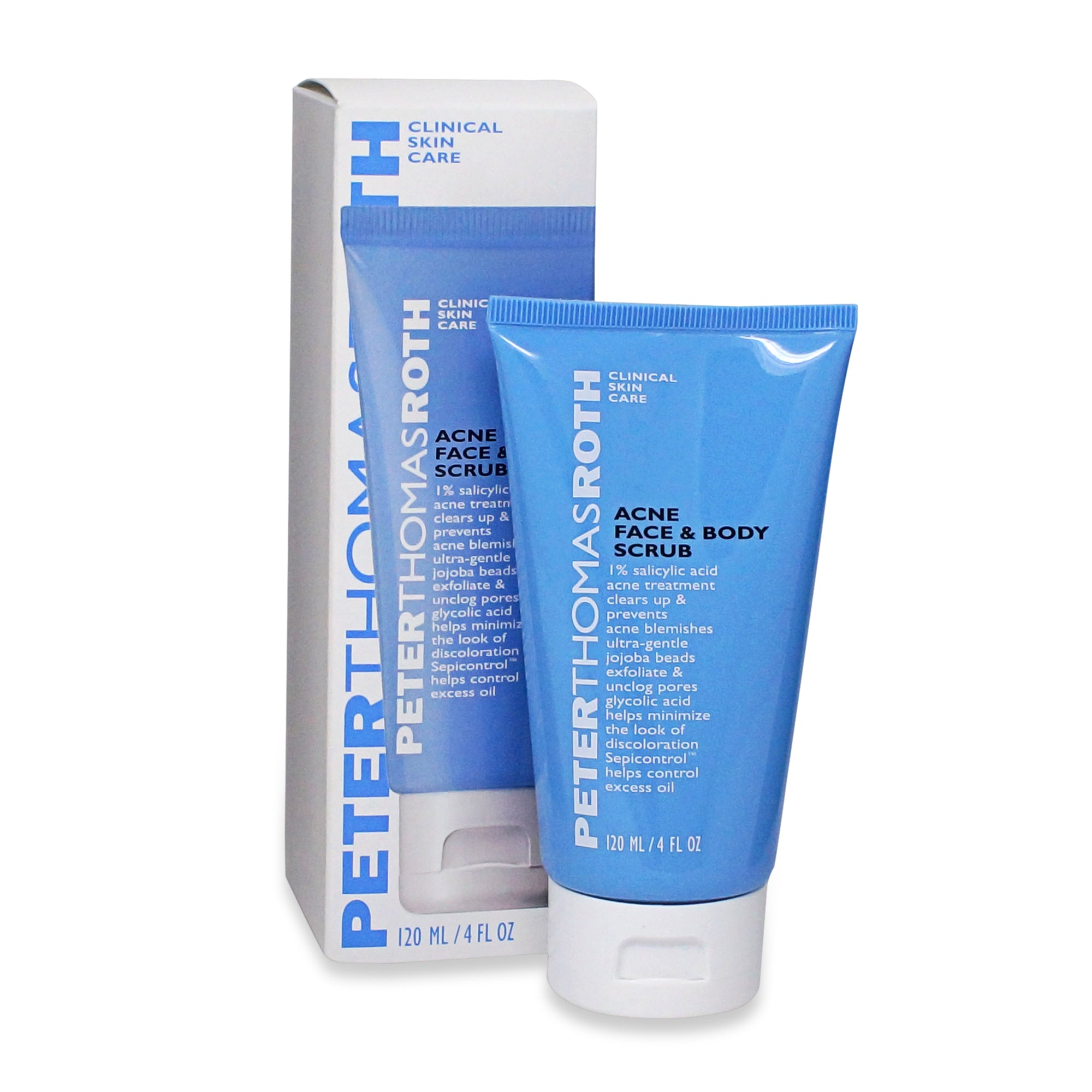 PETER THOMAS ROTH ~ ACNE FACE AND BODY SCRUB ~ 4 Oz
