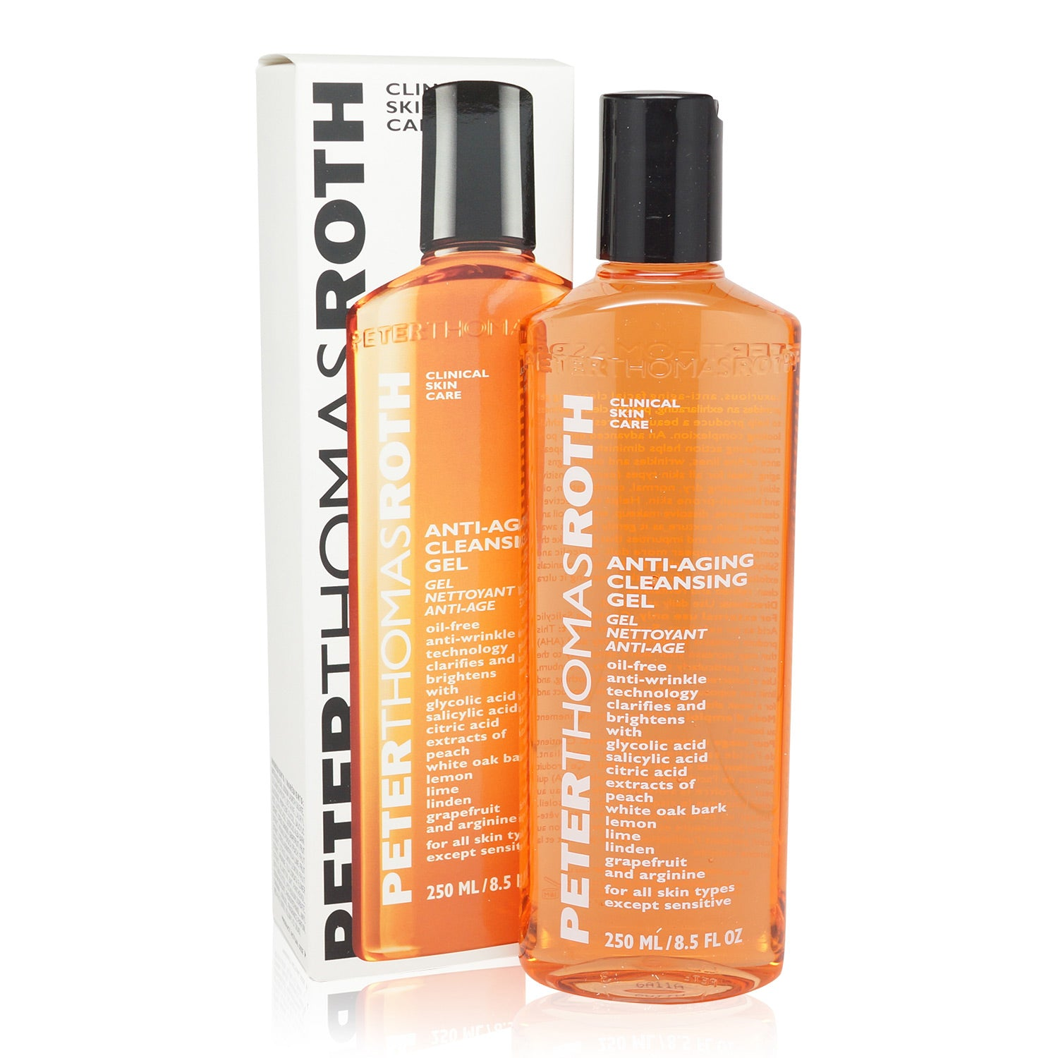 PETER THOMAS ROTH ~ ANTI-AGING CLEANSING GEL ~ 8.5 FL OZ *2018*