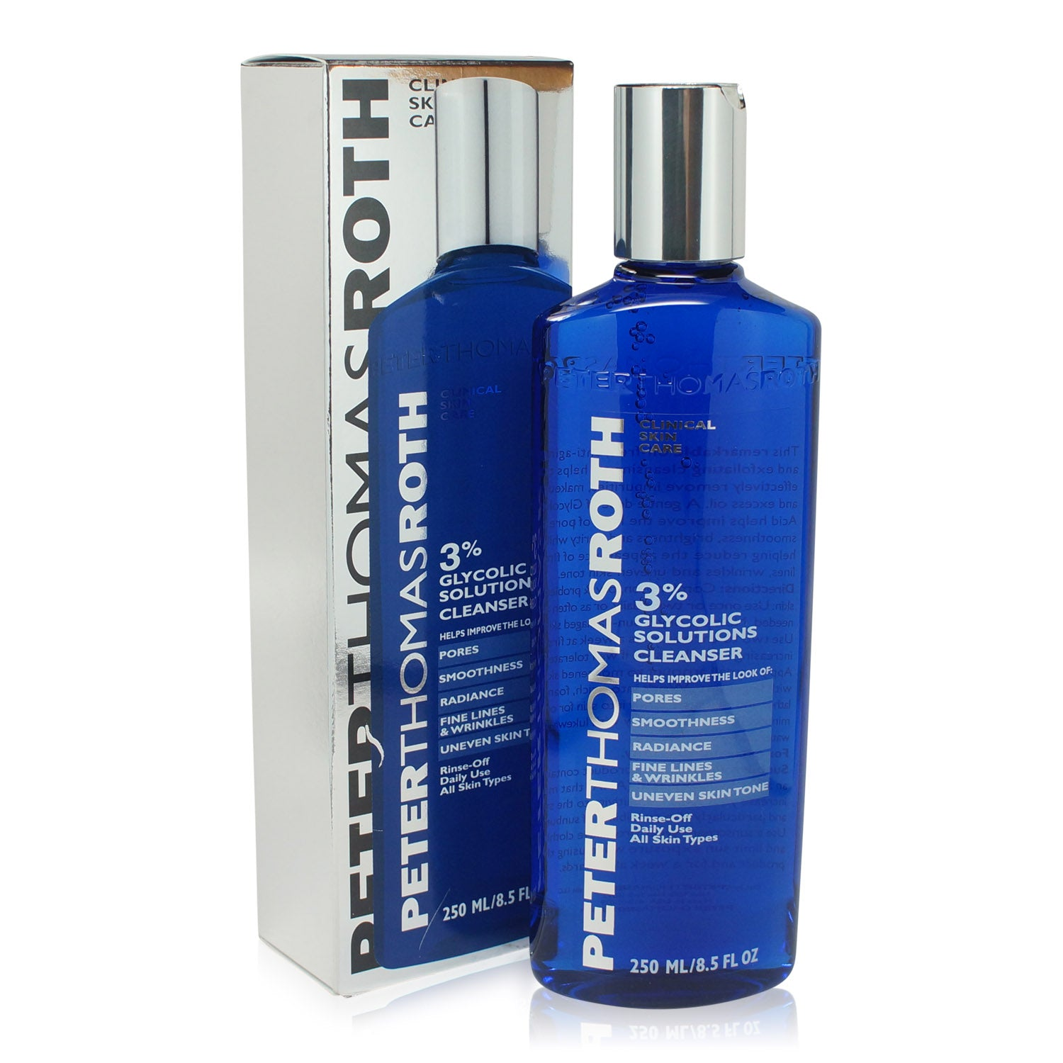 PETER THOMAS ROTH ~ GLYCOLIC ACID 3% FACIAL WASH ~ 8.5 FLOZ