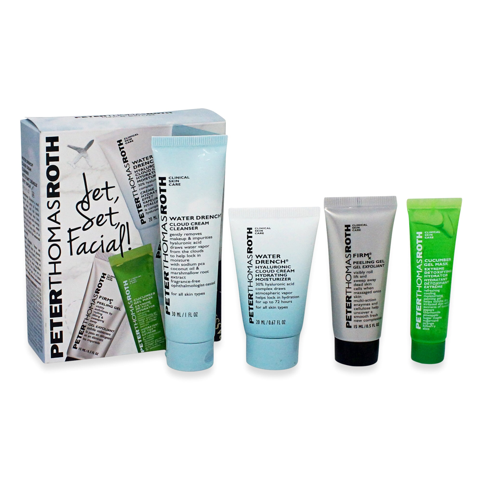 PETER THOMAS ROTH ~ JET SET FACIAL! KIT *NEW 2019