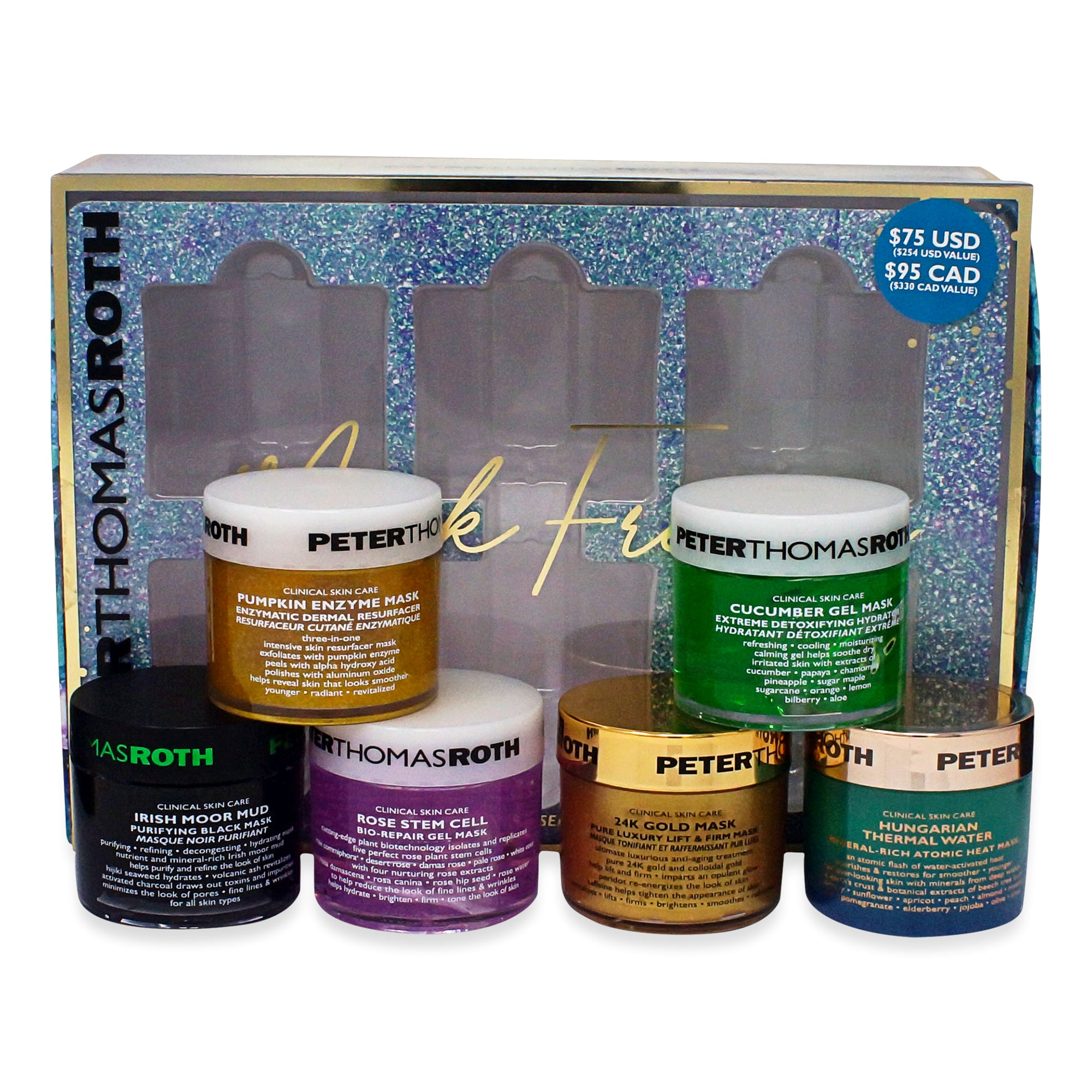 PETER THOMAS ROTH ~ MASK FRENZY KIT * NEW 2019