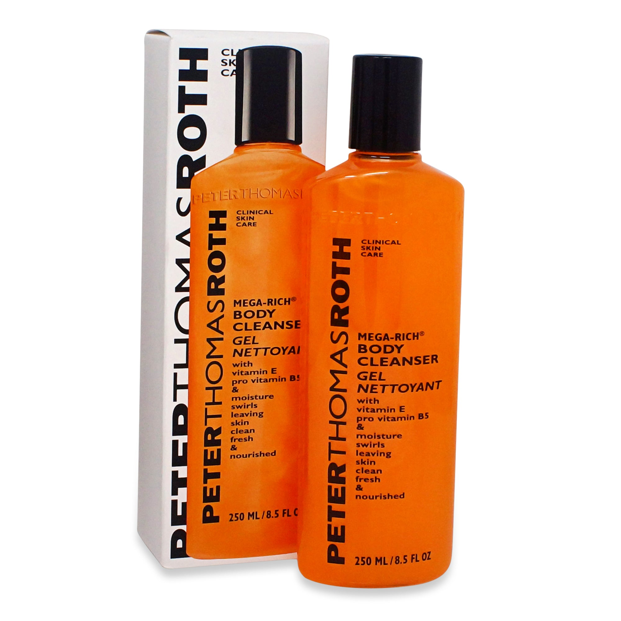 PETER THOMAS ROTH ~ MEGA RICH BODY CLEANSER GEL ~ 8.5 FL OZ
