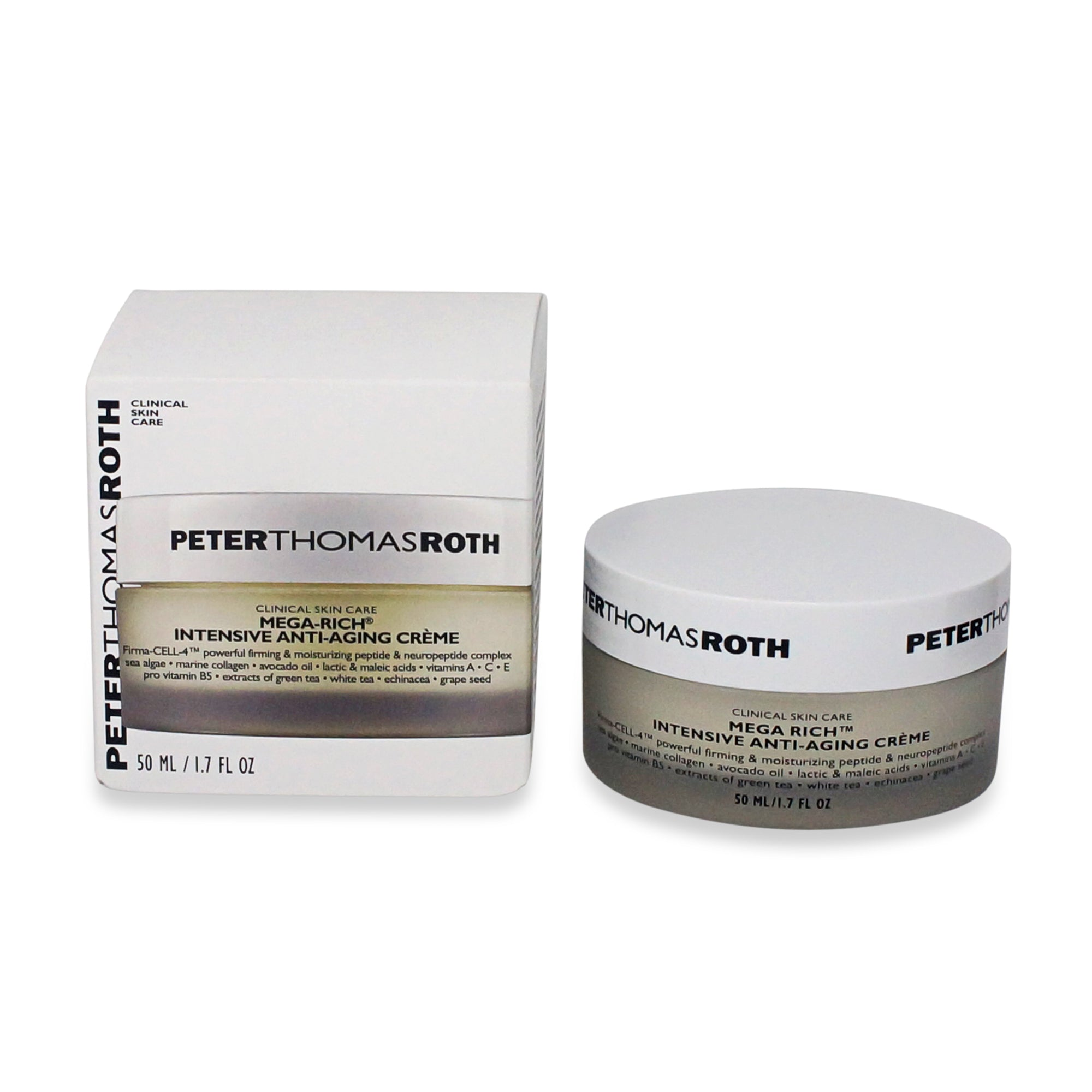 PETER THOMAS ROTH ~ MEGA RICH INTENSIVE ANTI-AGING CELLULAR CREME ~ 1.7 OZ *2018*