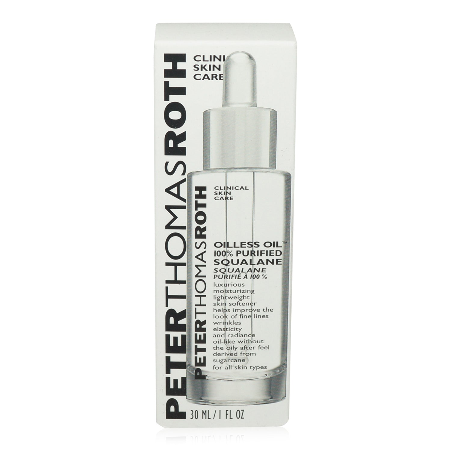 PETER THOMAS ROTH ~ OILLESS OIL 100% PURIFIED SQUALANE ~ 1FL OZ