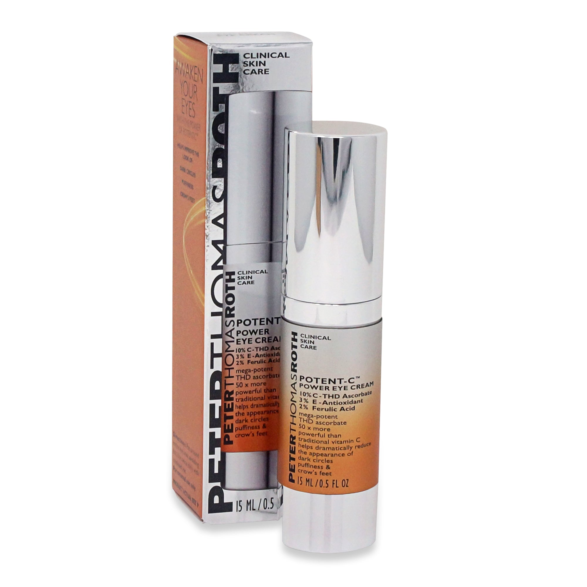 PETER THOMAS ROTH ~ POTENT C POWER EYE CREAM ~ 0.5 OZ