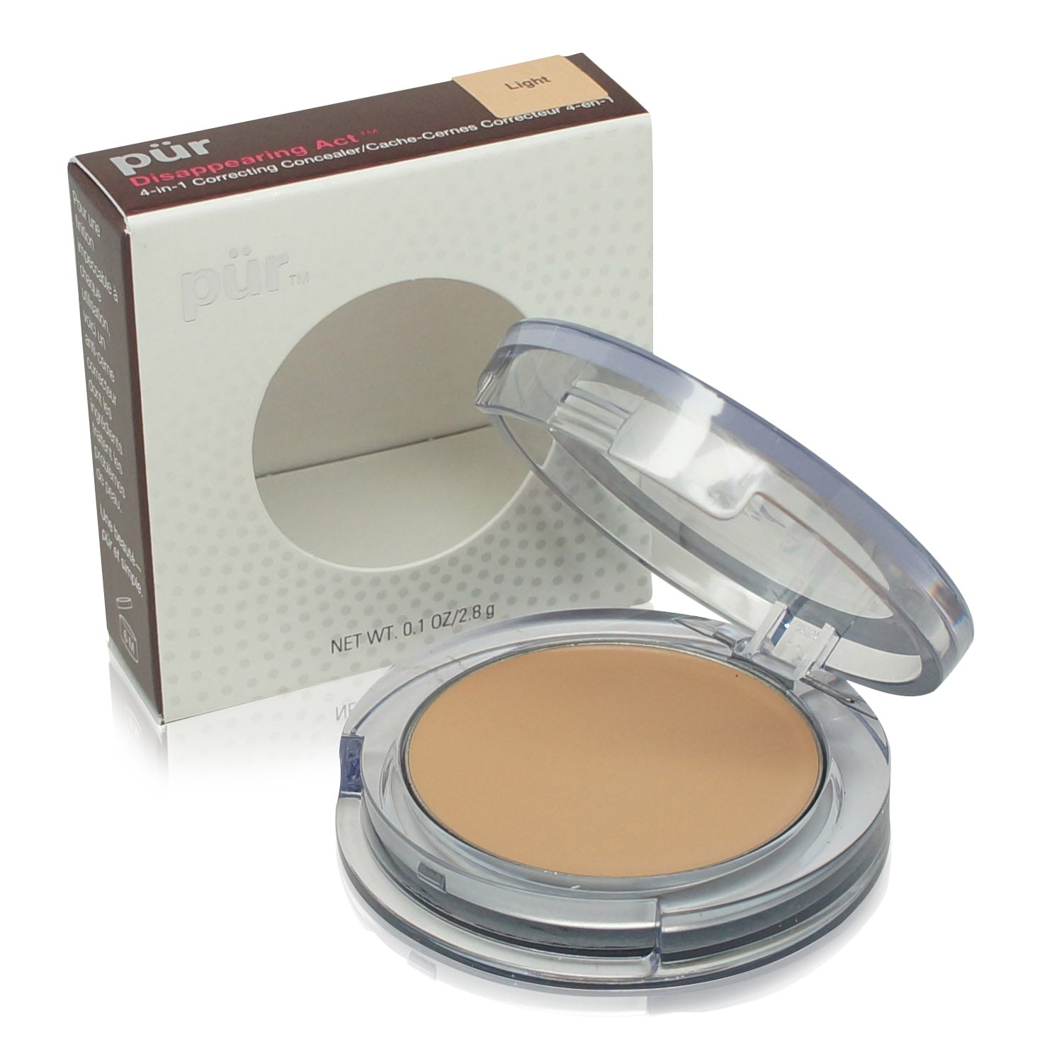 PURMINERALS ~ FACE CONCEALER DISAPPEARING ACT CONCEALER ~ LIGHT